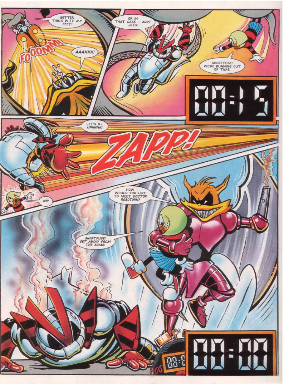 Read online Sonic the Comic comic -  Issue #65 - 27