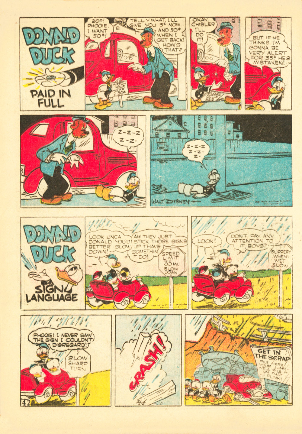 Walt Disney's Comics and Stories issue 38 - Page 44