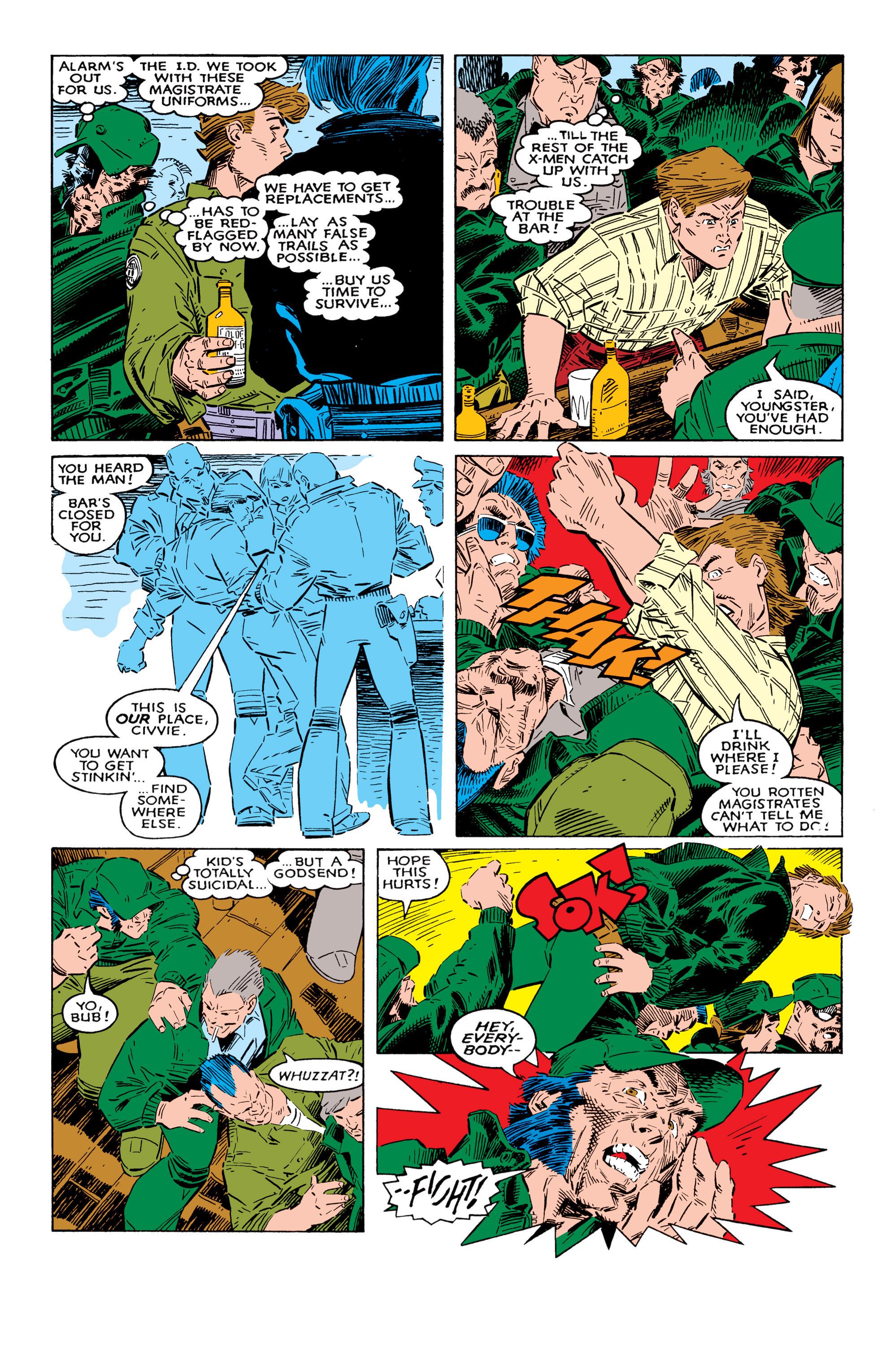 Read online Uncanny X-Men (1963) comic -  Issue #237 - 9