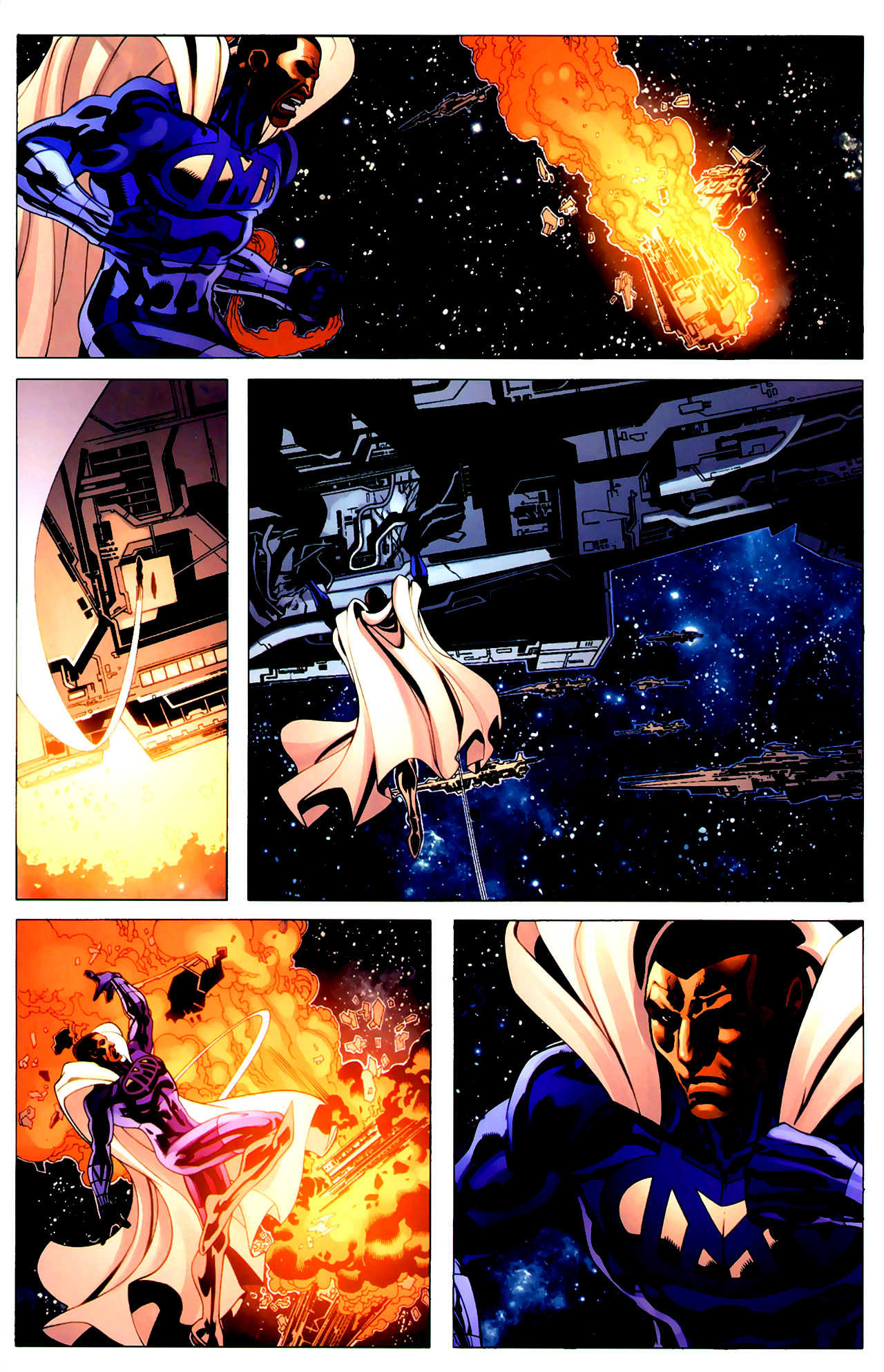 Read online Adam: Legend of the Blue Marvel comic -  Issue #3 - 19