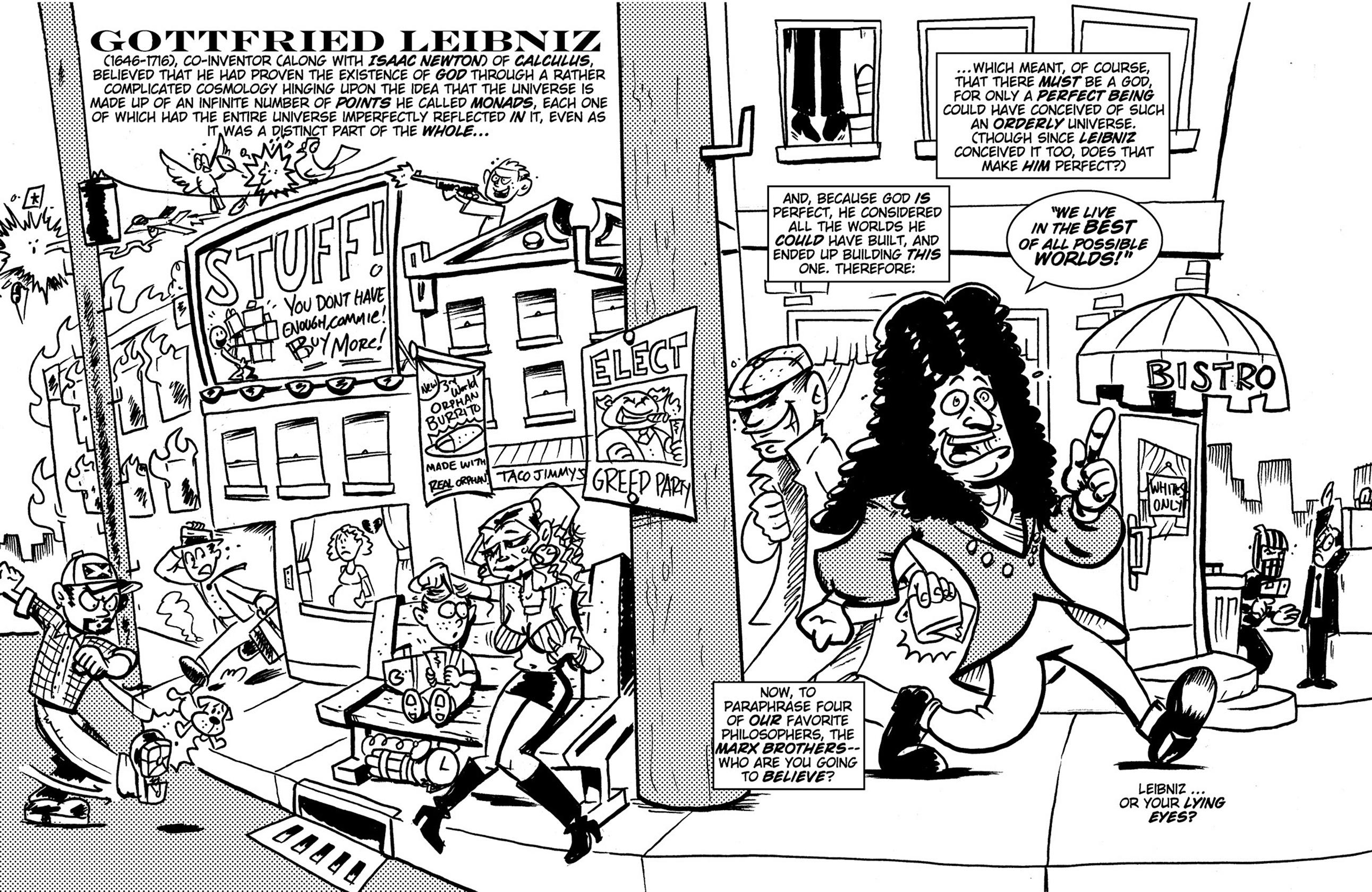 Read online Action Philosophers! comic -  Issue #Action Philosophers! TPB (Part 1) - 148