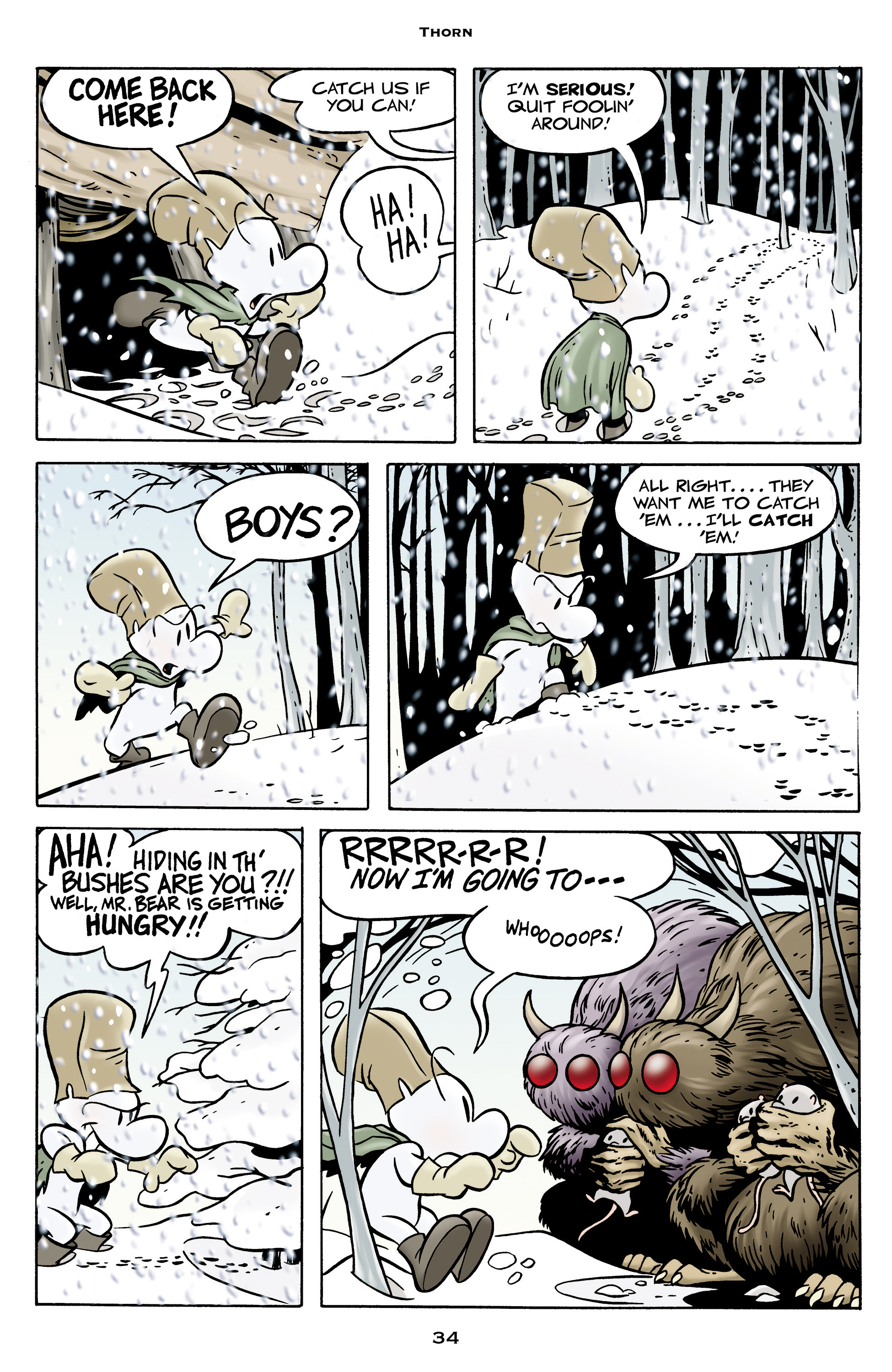 Read online Bone: Out From Boneville comic -  Issue # TPB - 34