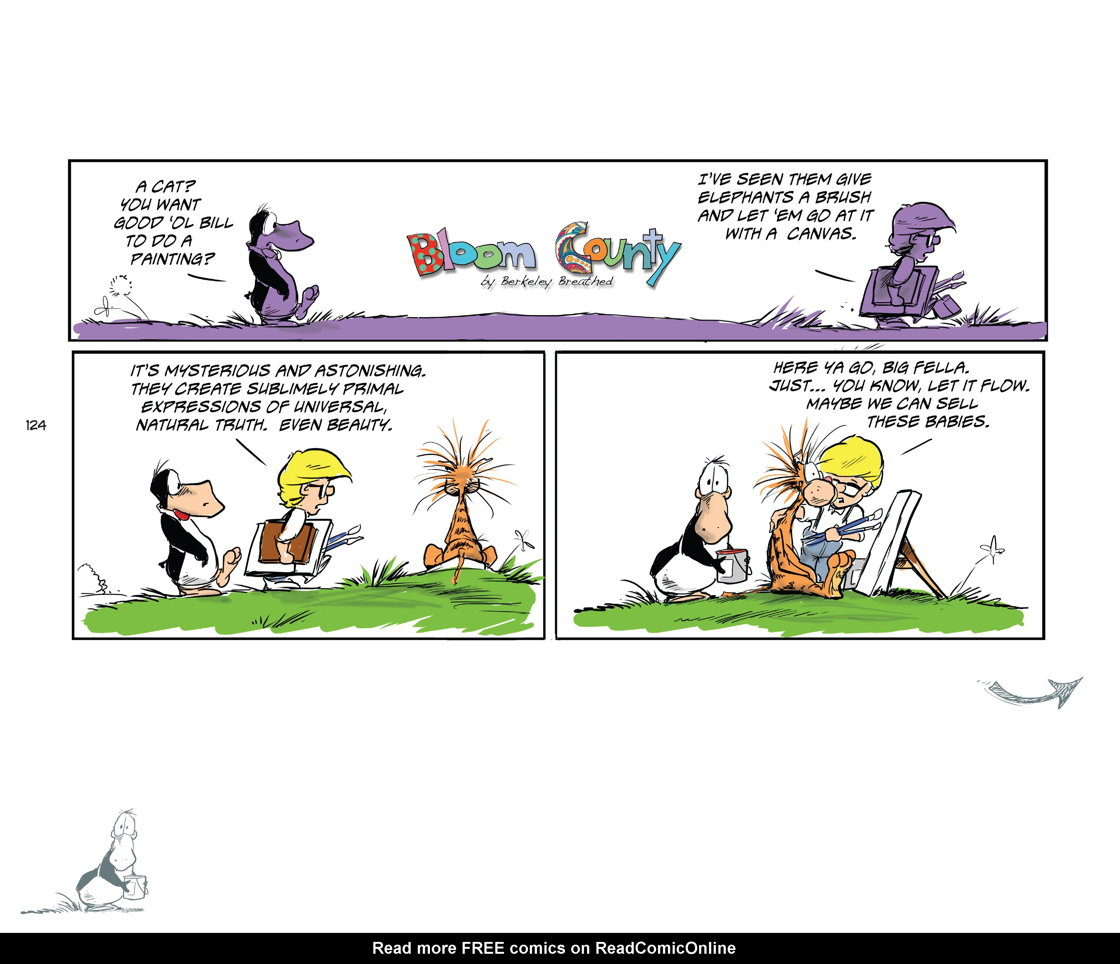 Read online Bloom County Episode XI: A New Hope comic -  Issue # Full - 126