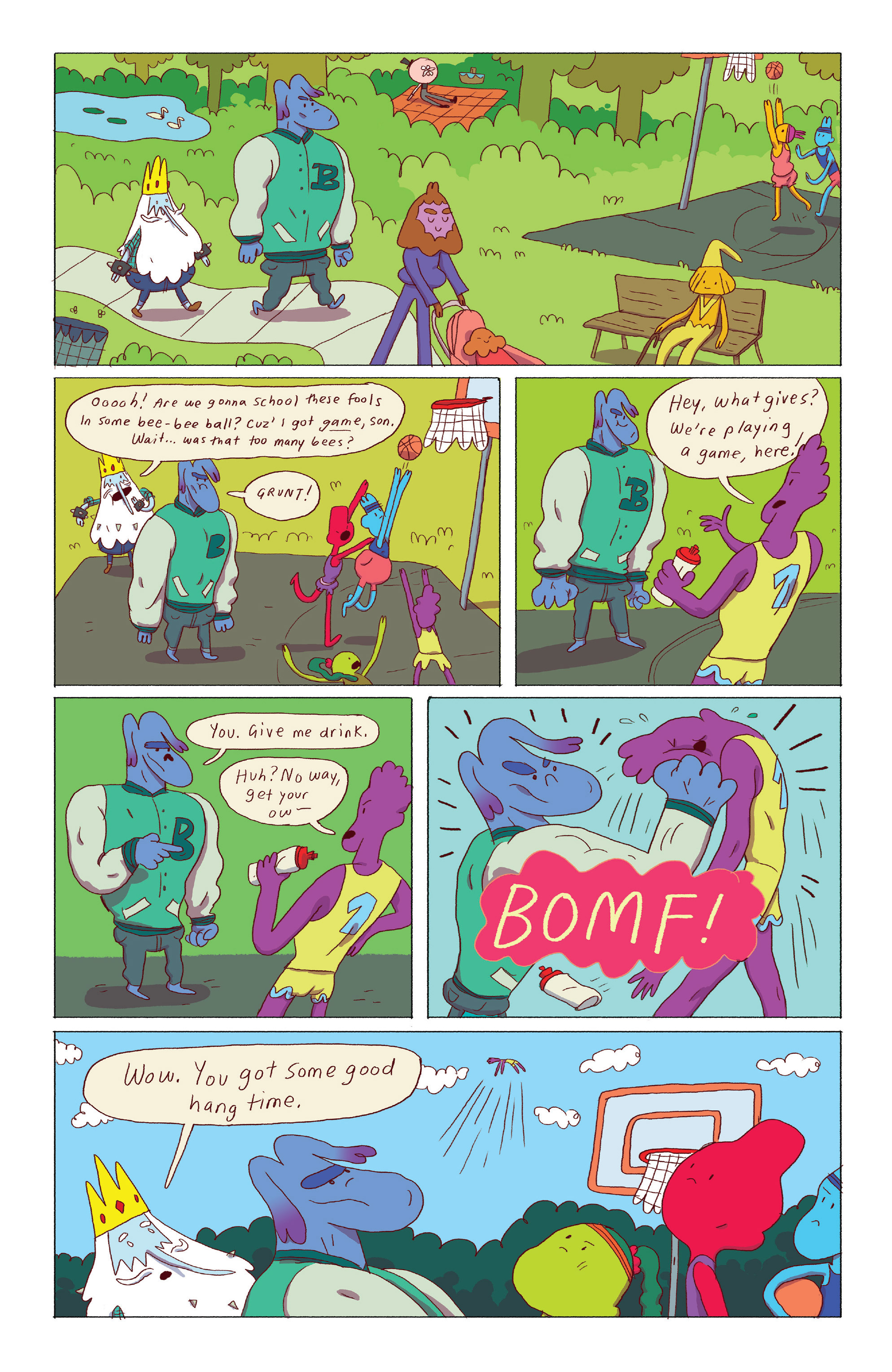 Read online Adventure Time: Ice King comic -  Issue #3 - 14