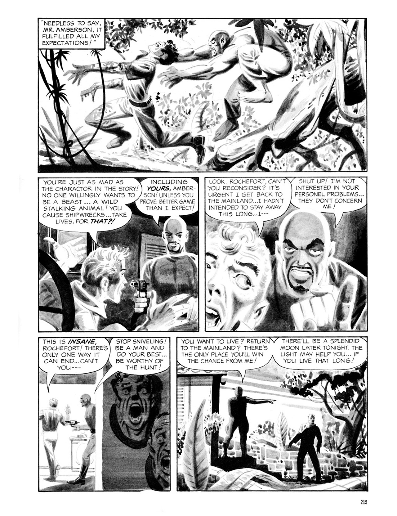 Read online Eerie Archives comic -  Issue # TPB 2 - 216