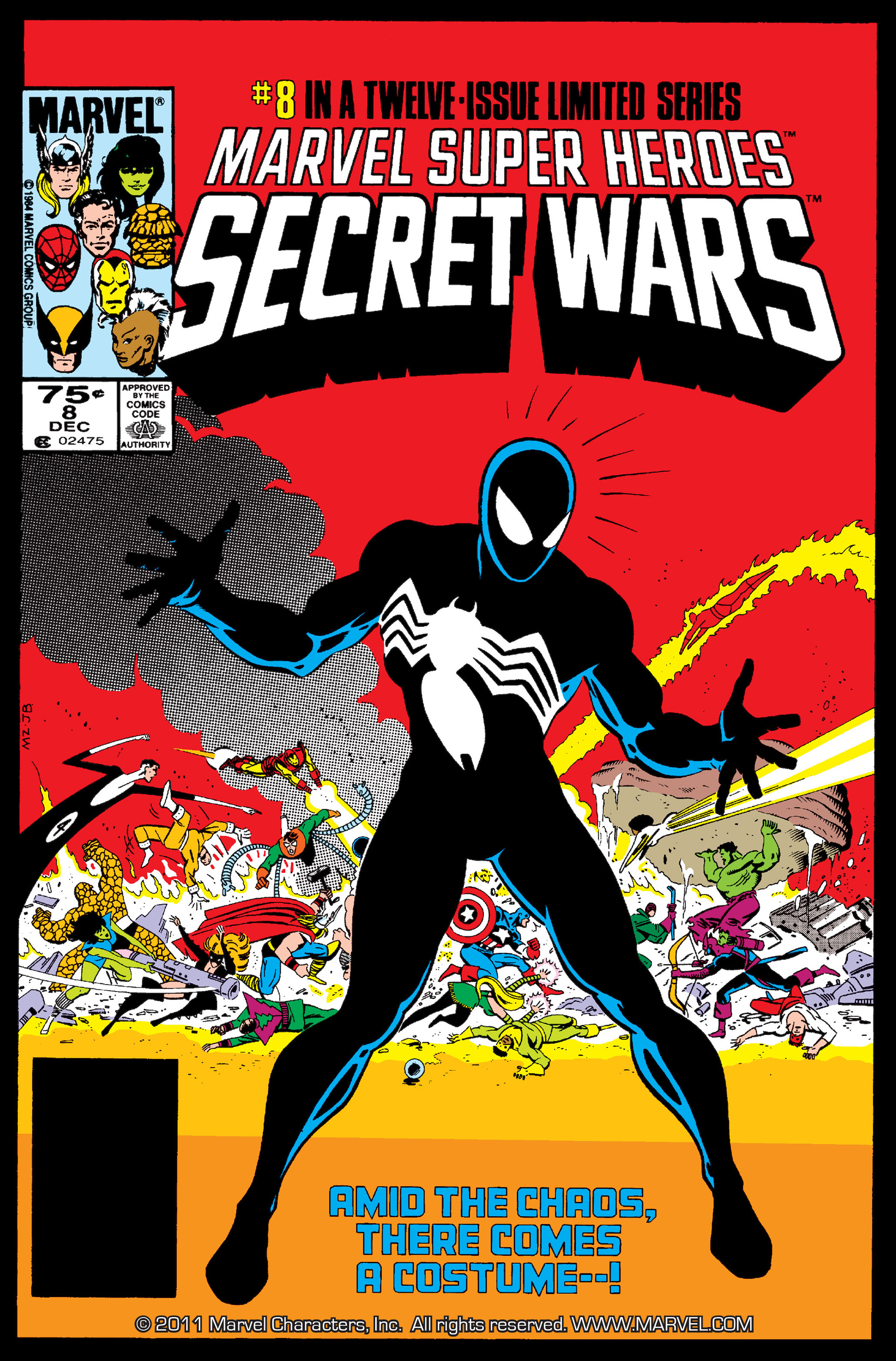 Secret Wars (1985) issue 8 - Page 1