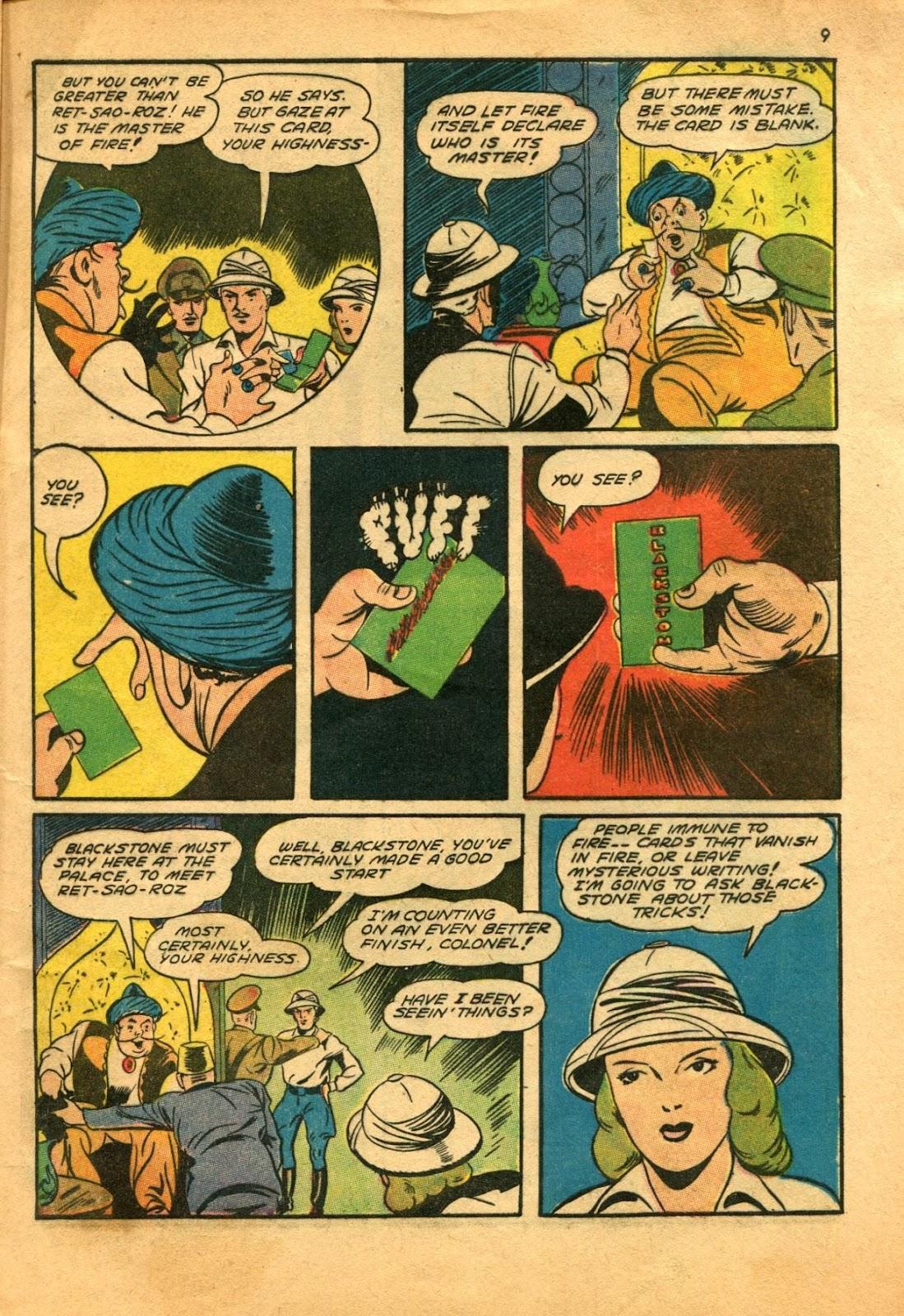 Read online Super-Magician Comics comic -  Issue #11 - 9