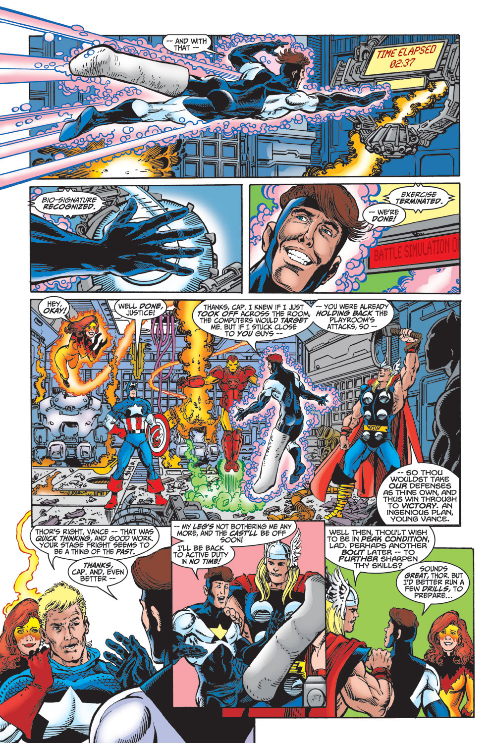 Read online Avengers (1998) comic -  Issue #23 - 6