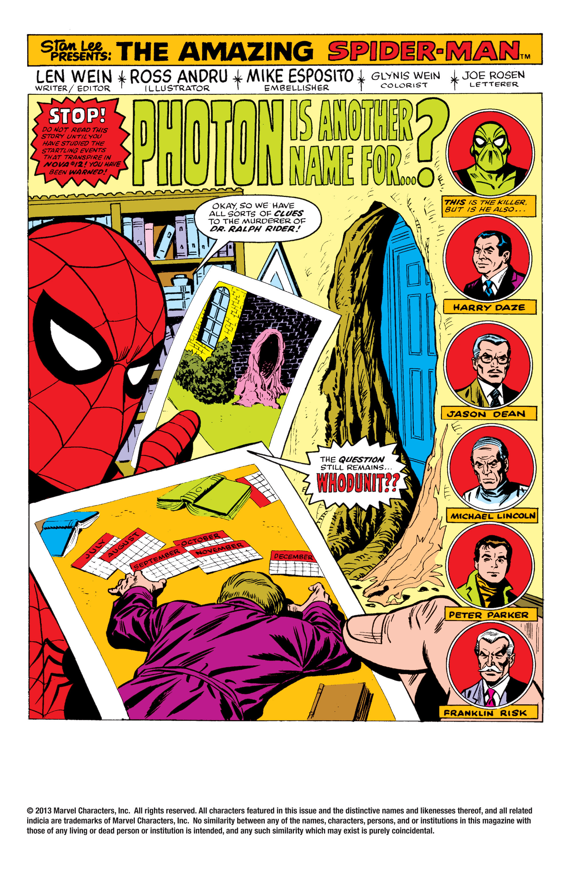 The Amazing Spider-Man (1963) 171 Page 1