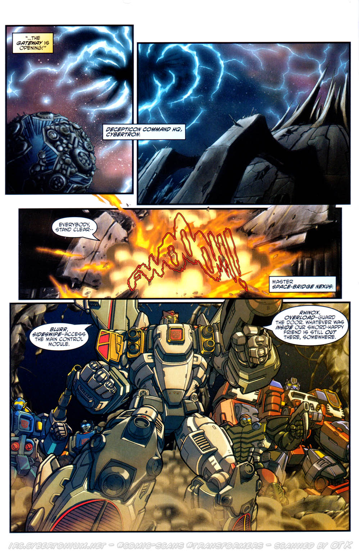Read online Transformers Armada comic -  Issue #17 - 8