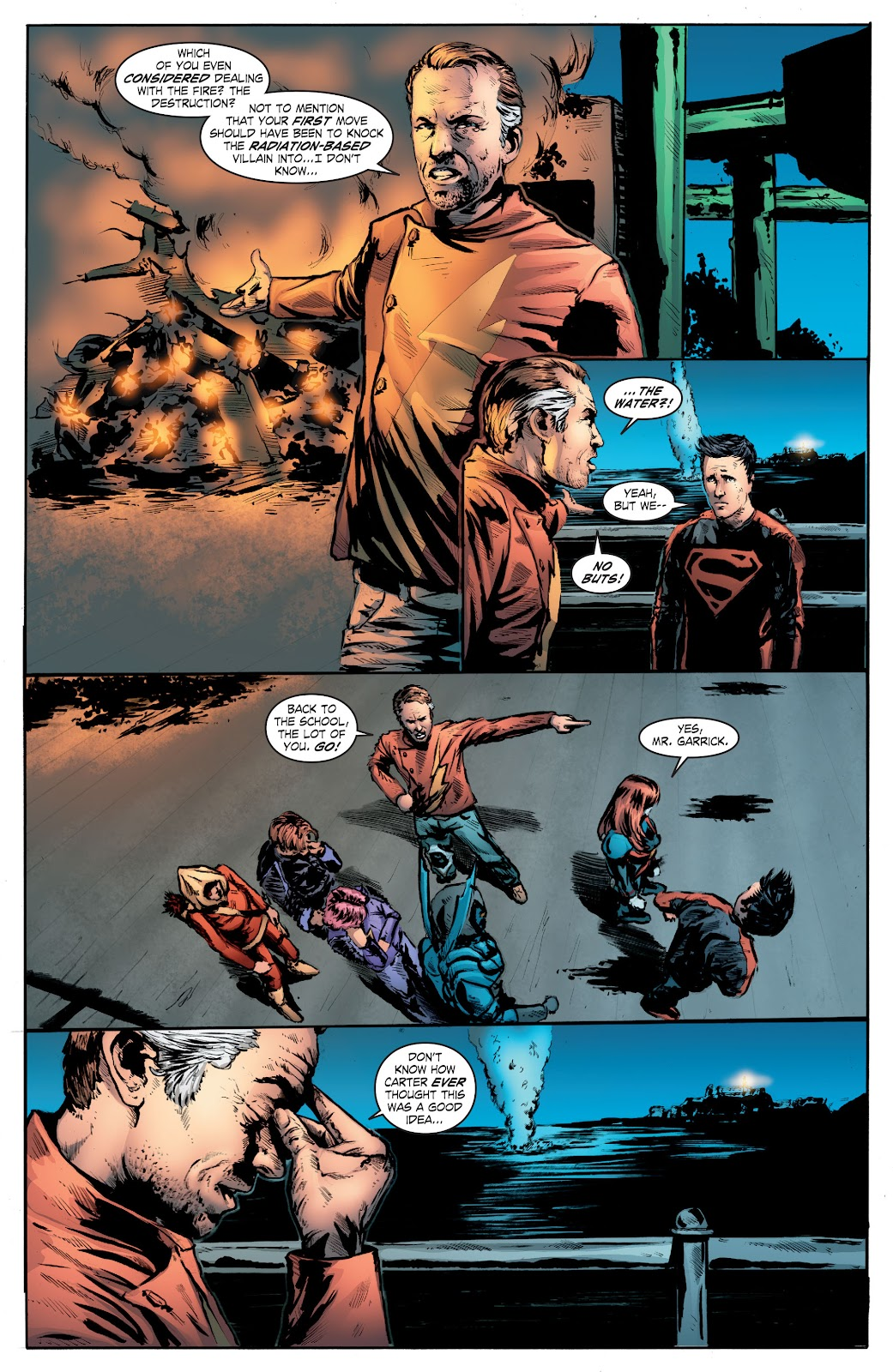 Read online Smallville Season 11 [II] comic -  Issue # TPB 7 - 142