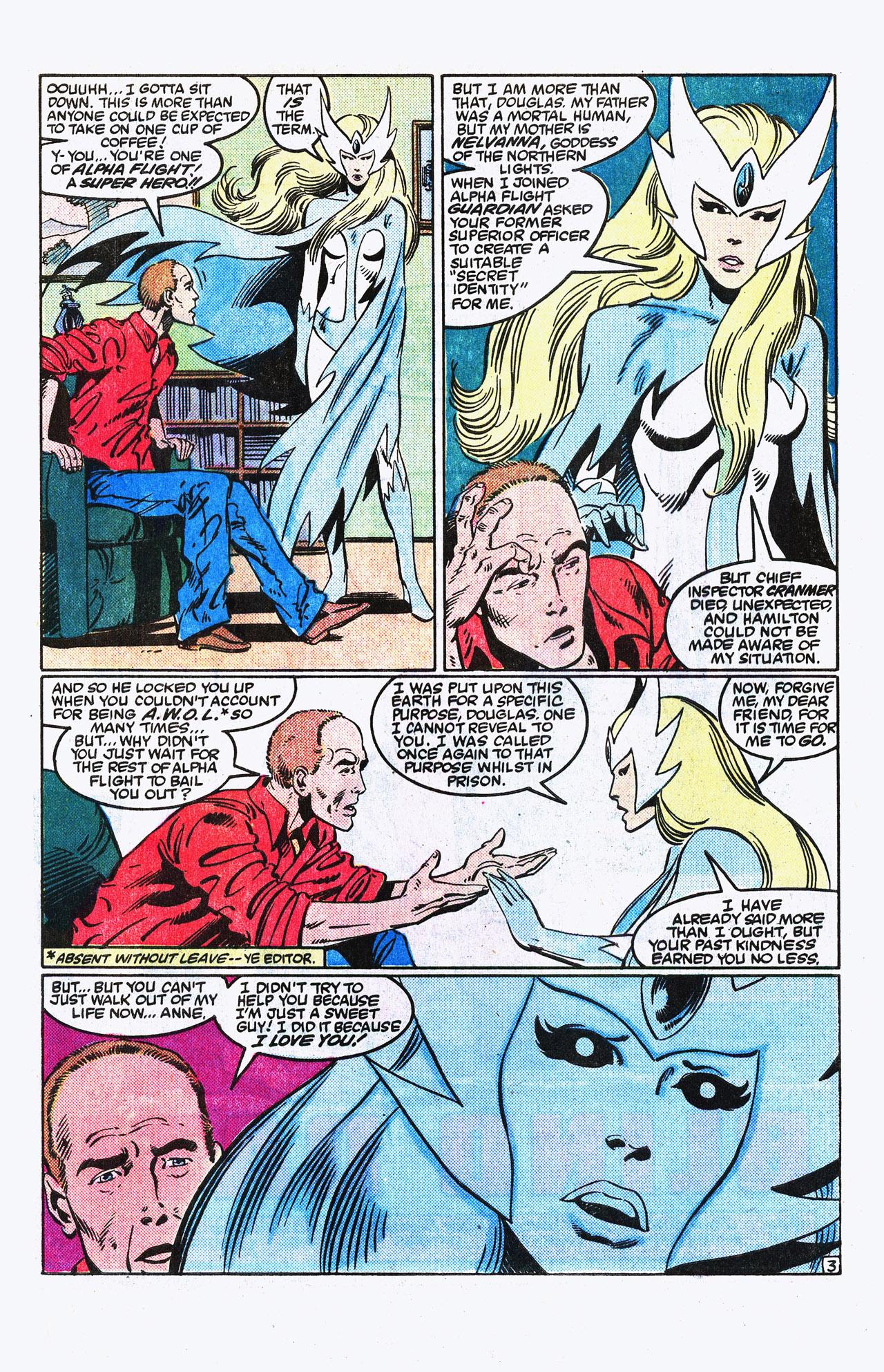 Read online Alpha Flight (1983) comic -  Issue #15 - 4