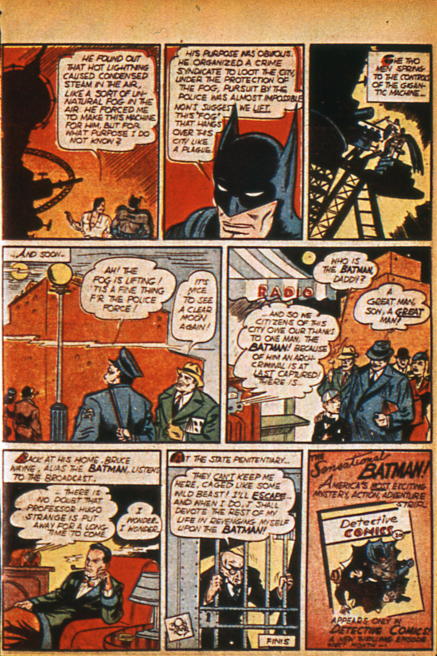 Read online Detective Comics (1937) comic -  Issue #36 - 16