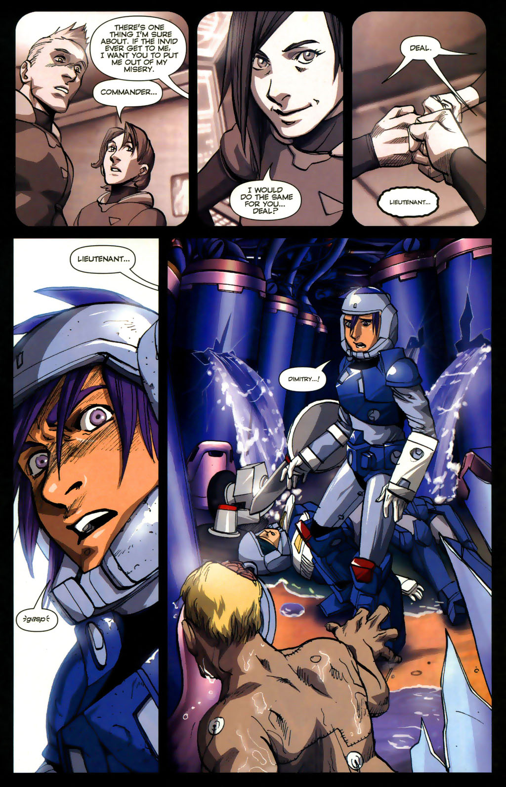 Read online Robotech: Invasion comic -  Issue #5 - 4