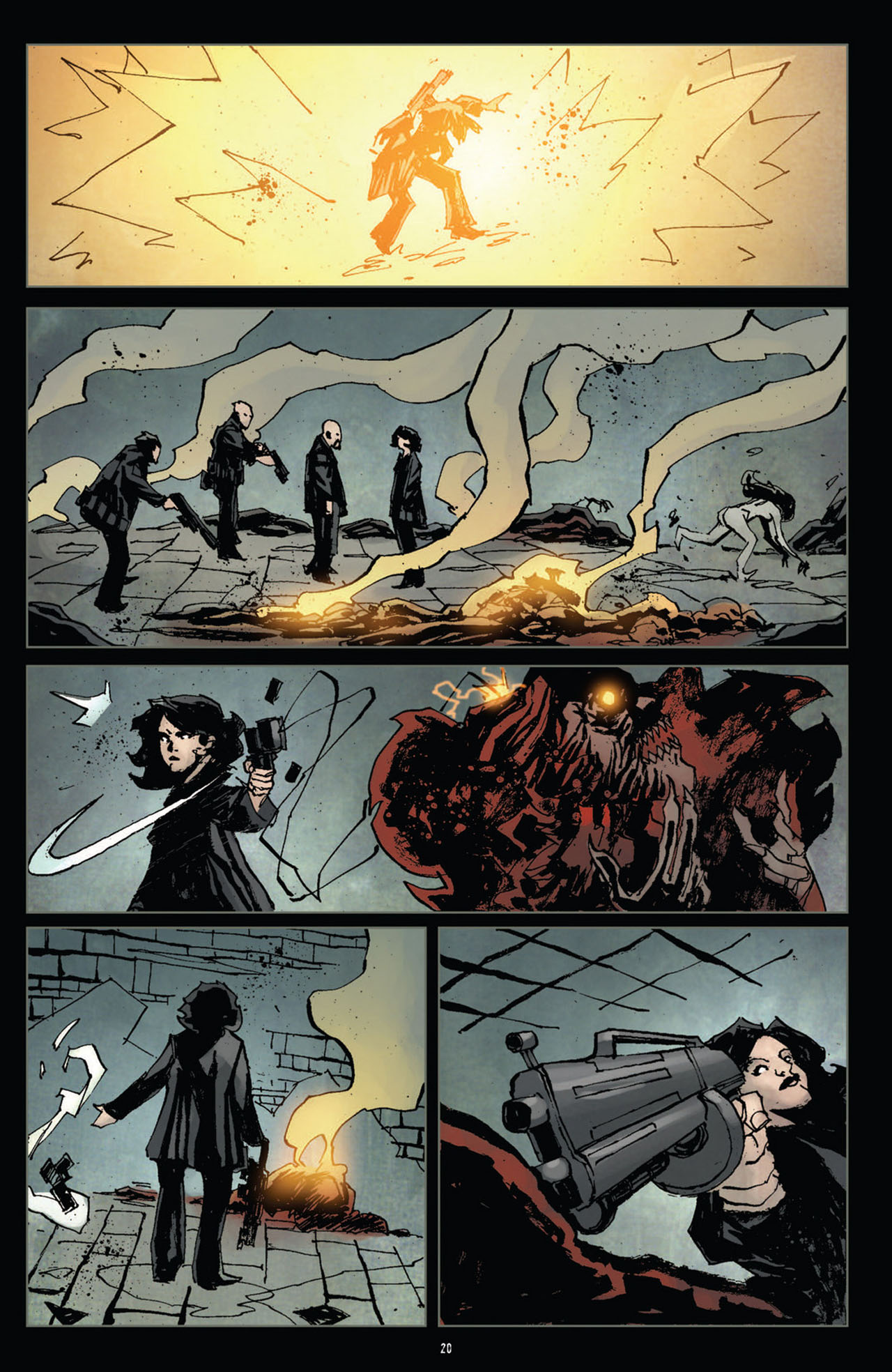 Read online 30 Days of Night (2011) comic -  Issue #10 - 21