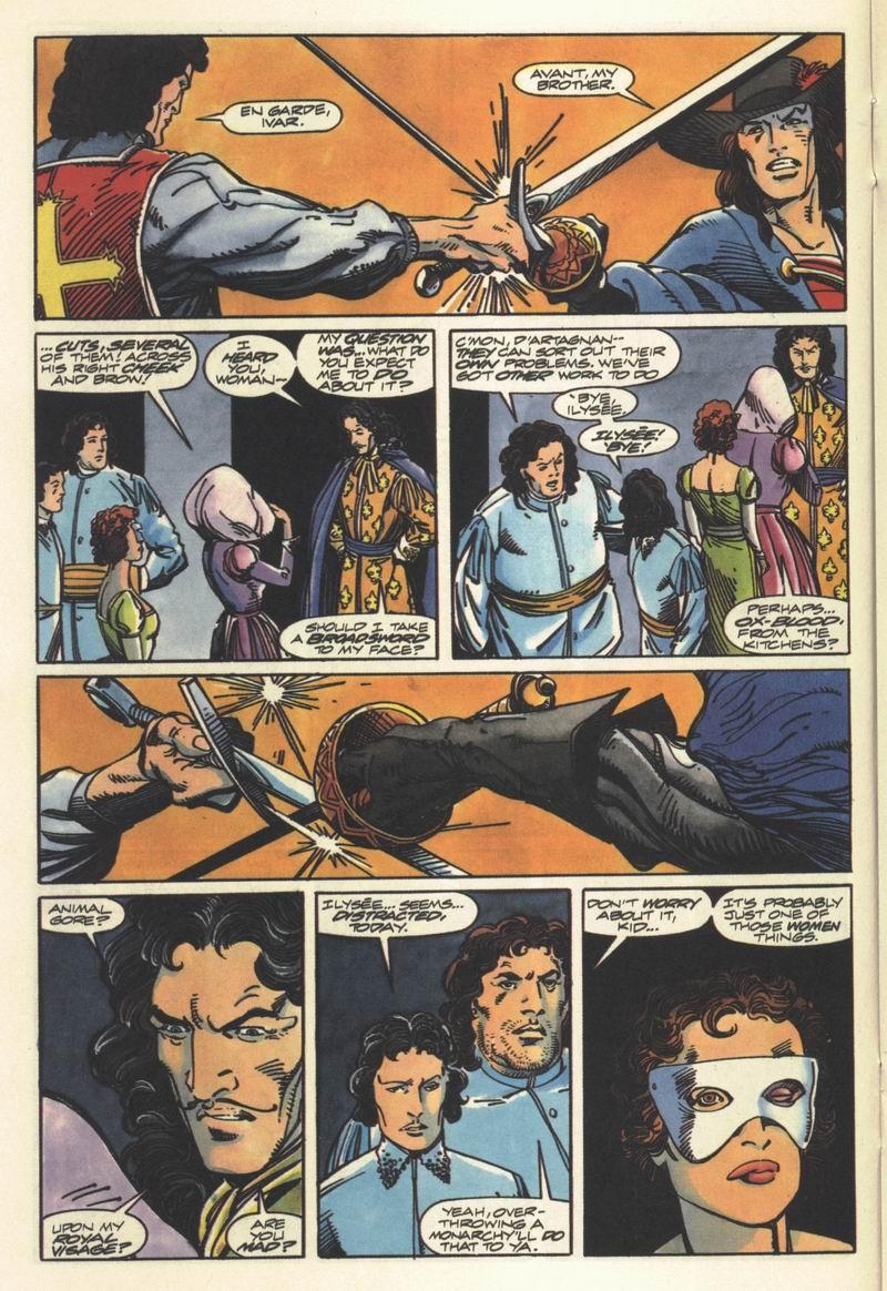 Read online Eternal Warrior (1992) comic -  Issue #8 - 19