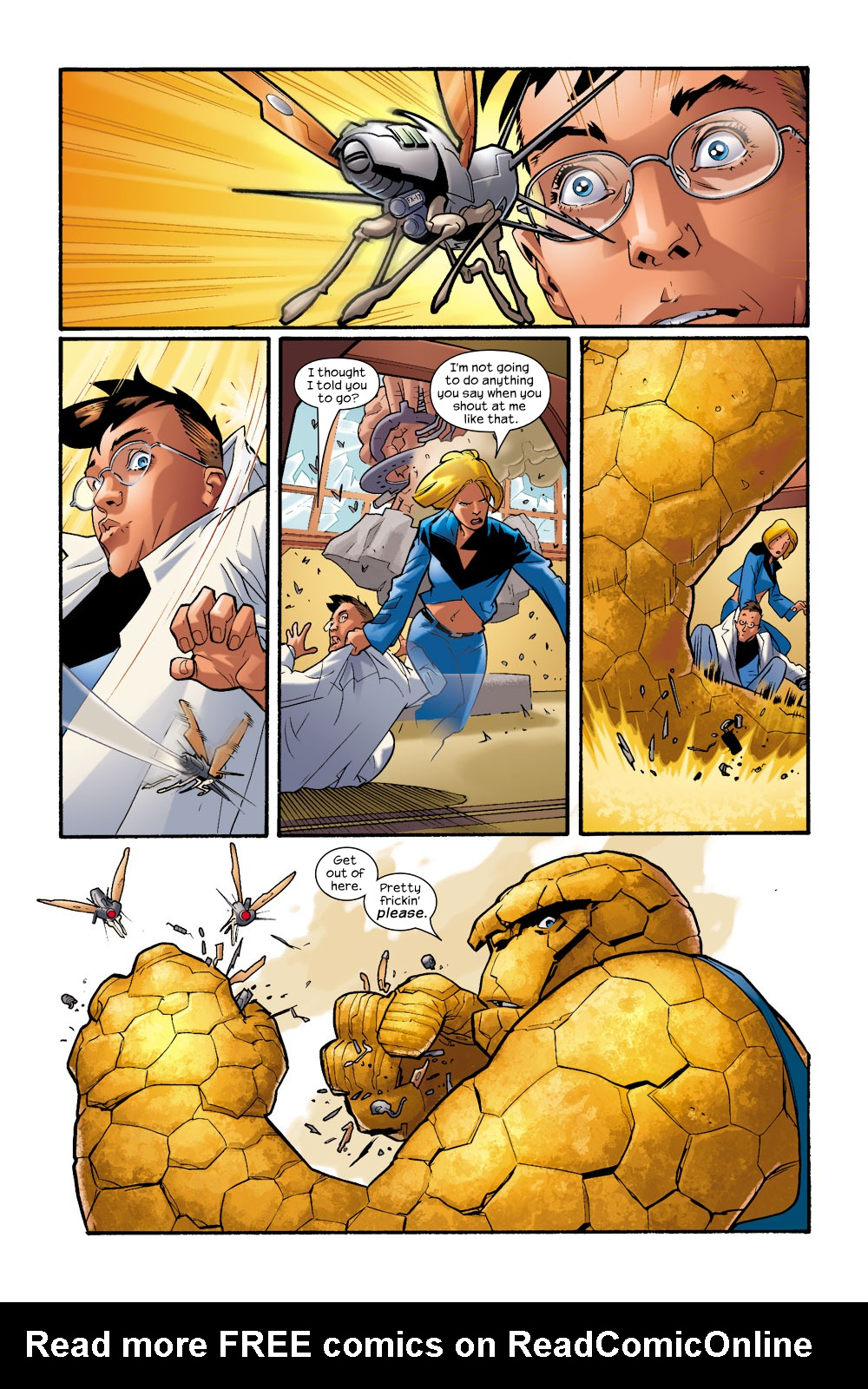 Read online Ultimate Fantastic Four (2004) comic -  Issue #9 - 3