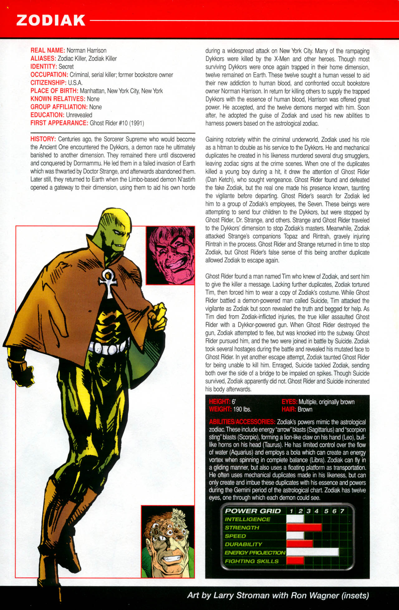 Read online All-New Official Handbook of the Marvel Universe A to Z: Update comic -  Issue #2 - 62