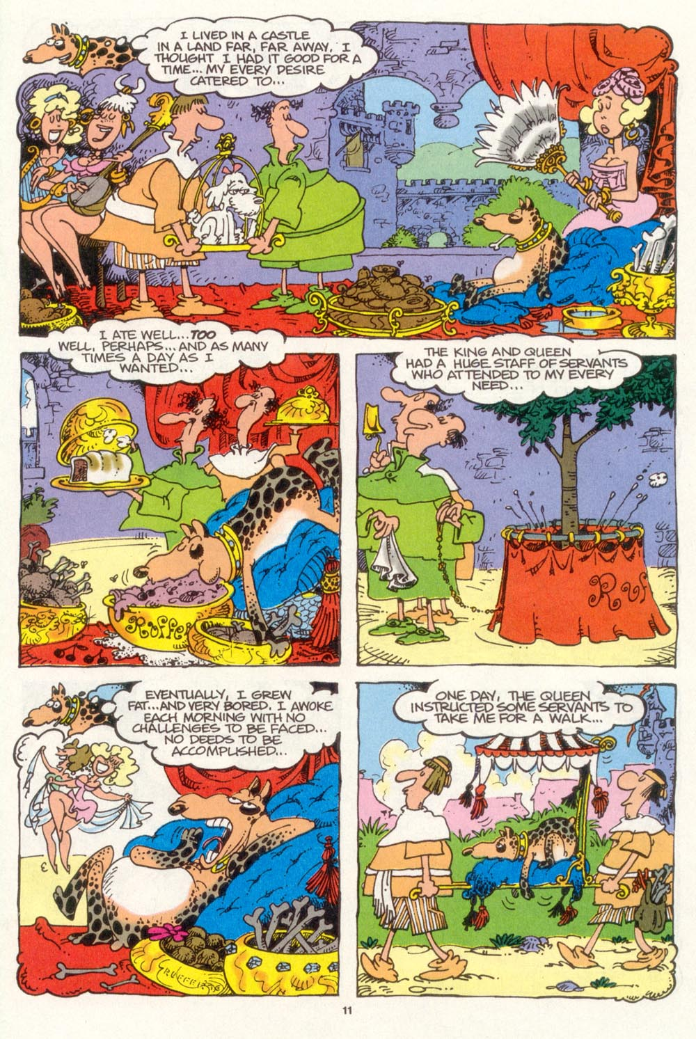 Read online Sergio Aragonés Groo the Wanderer comic -  Issue #104 - 13