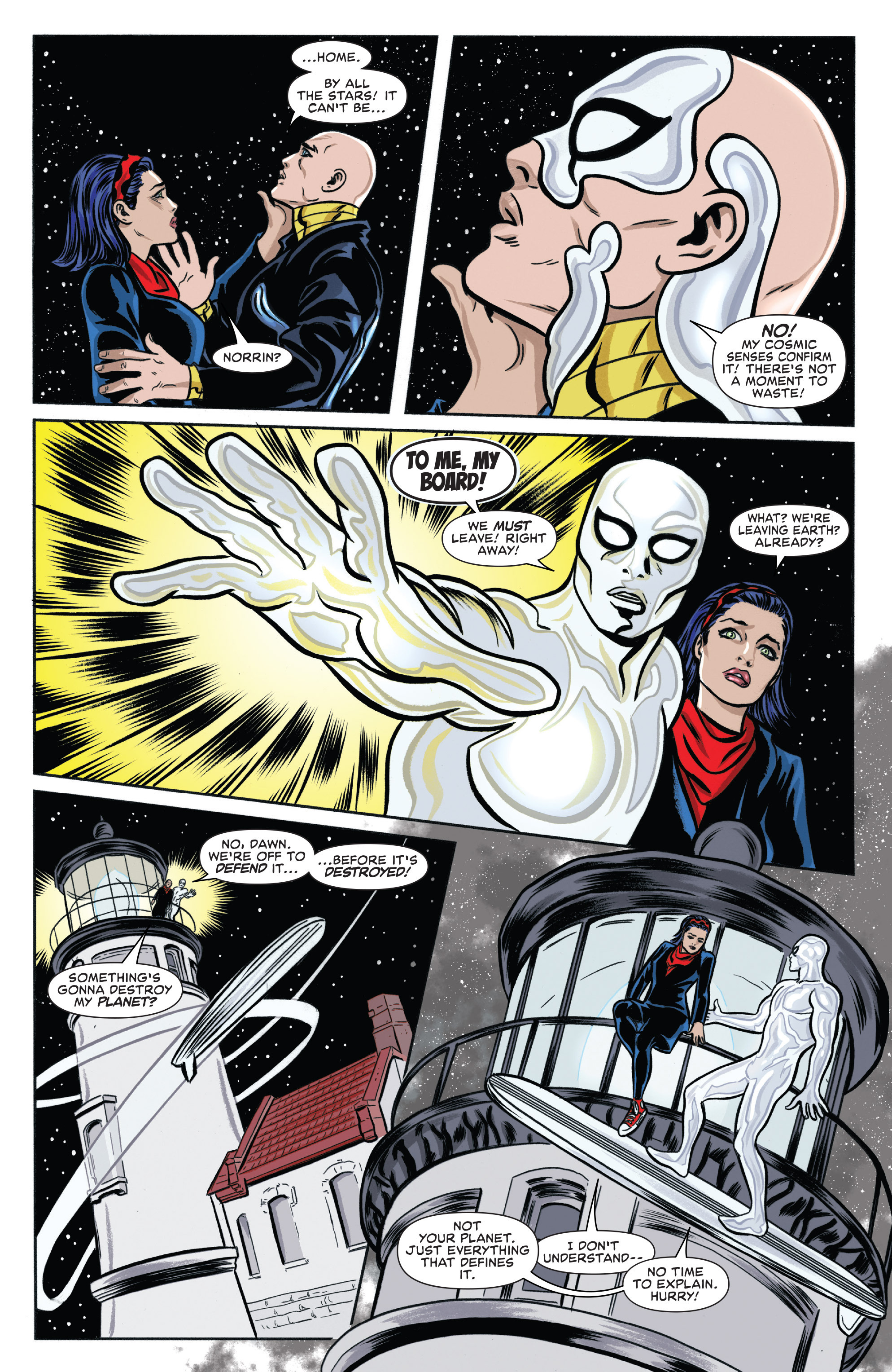 Read online Silver Surfer (2016) comic -  Issue #2 - 8