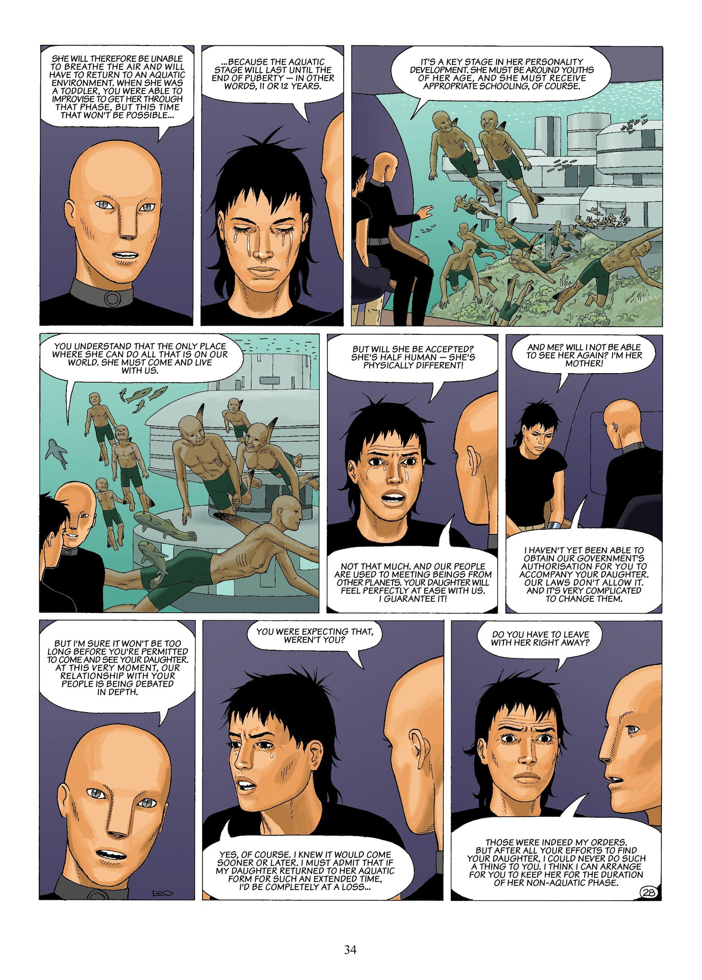 Read online Antares comic -  Issue #6 - 36