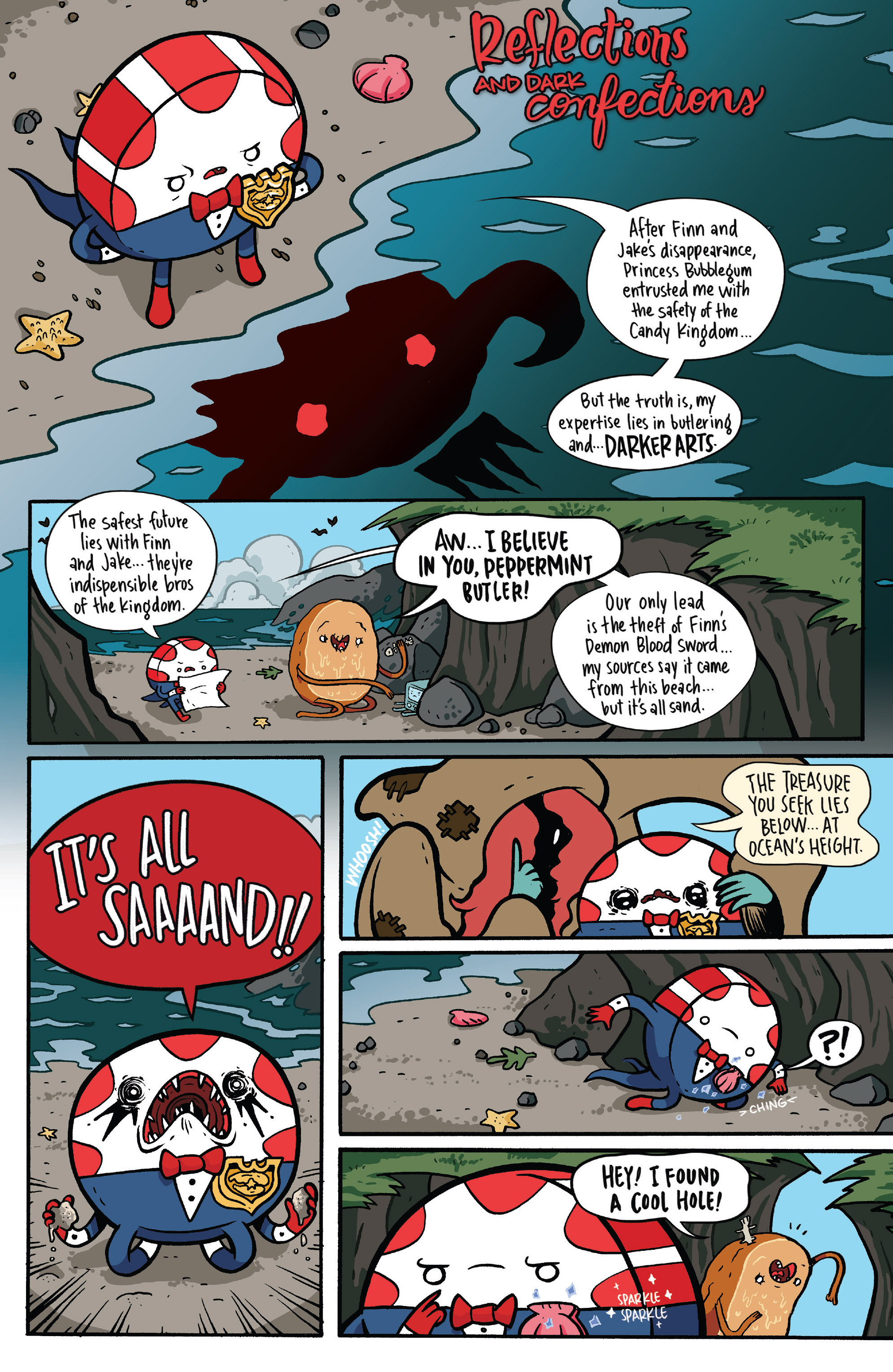 Read online Adventure Time: Candy Capers comic -  Issue #5 - 7