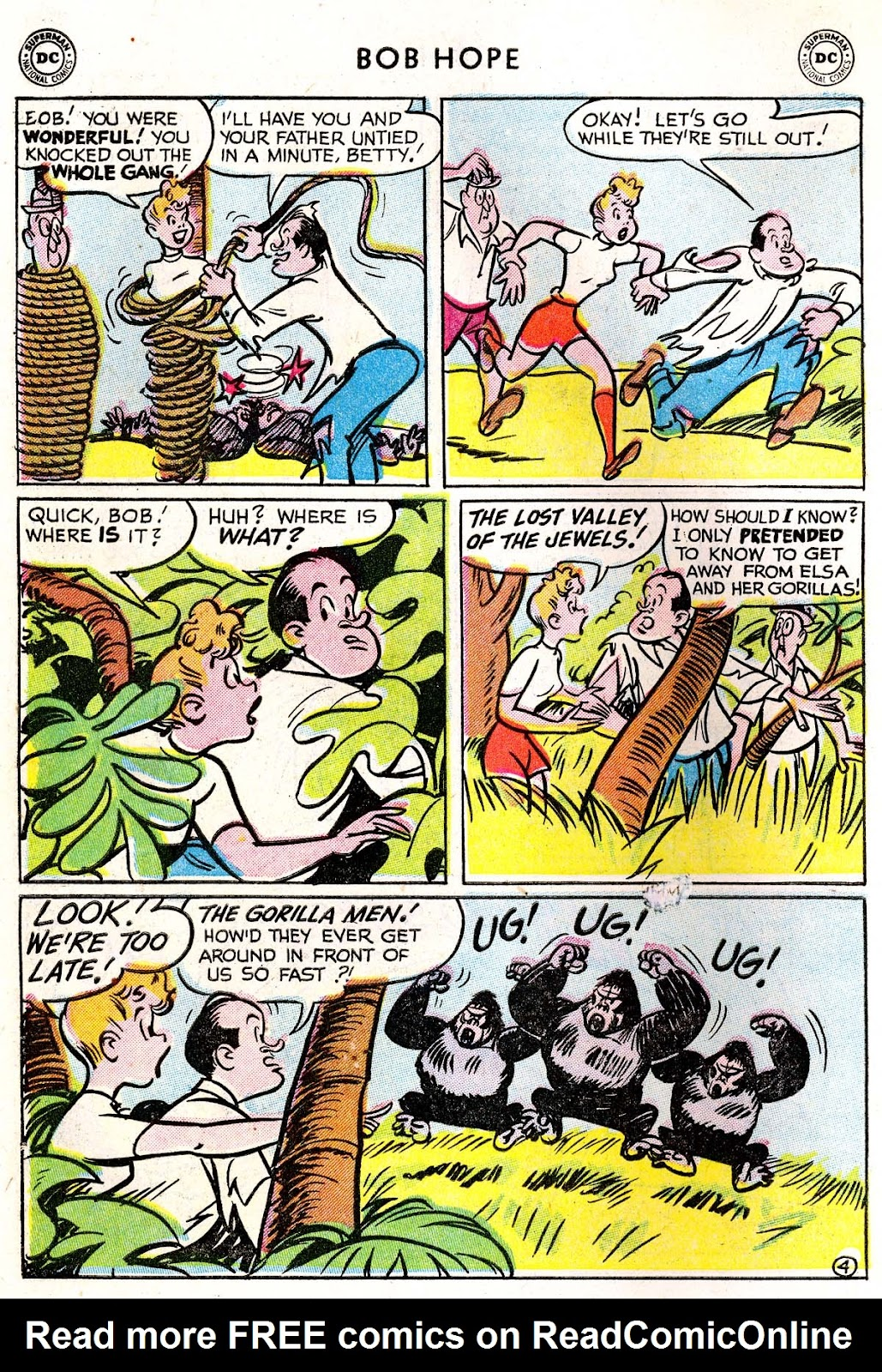 The Adventures of Bob Hope issue 33 - Page 30