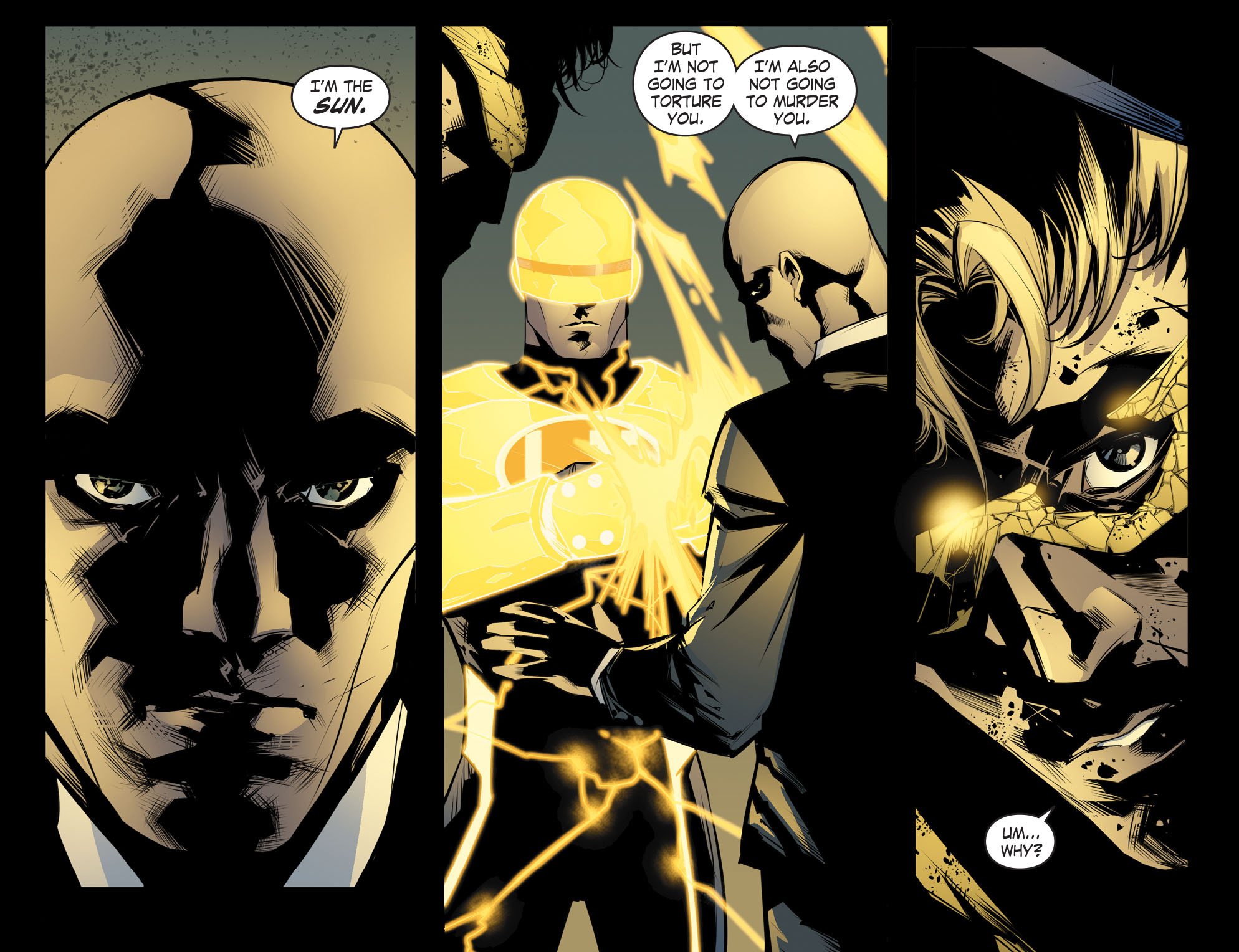 Read online Smallville: Chaos [II] comic -  Issue #8 - 6