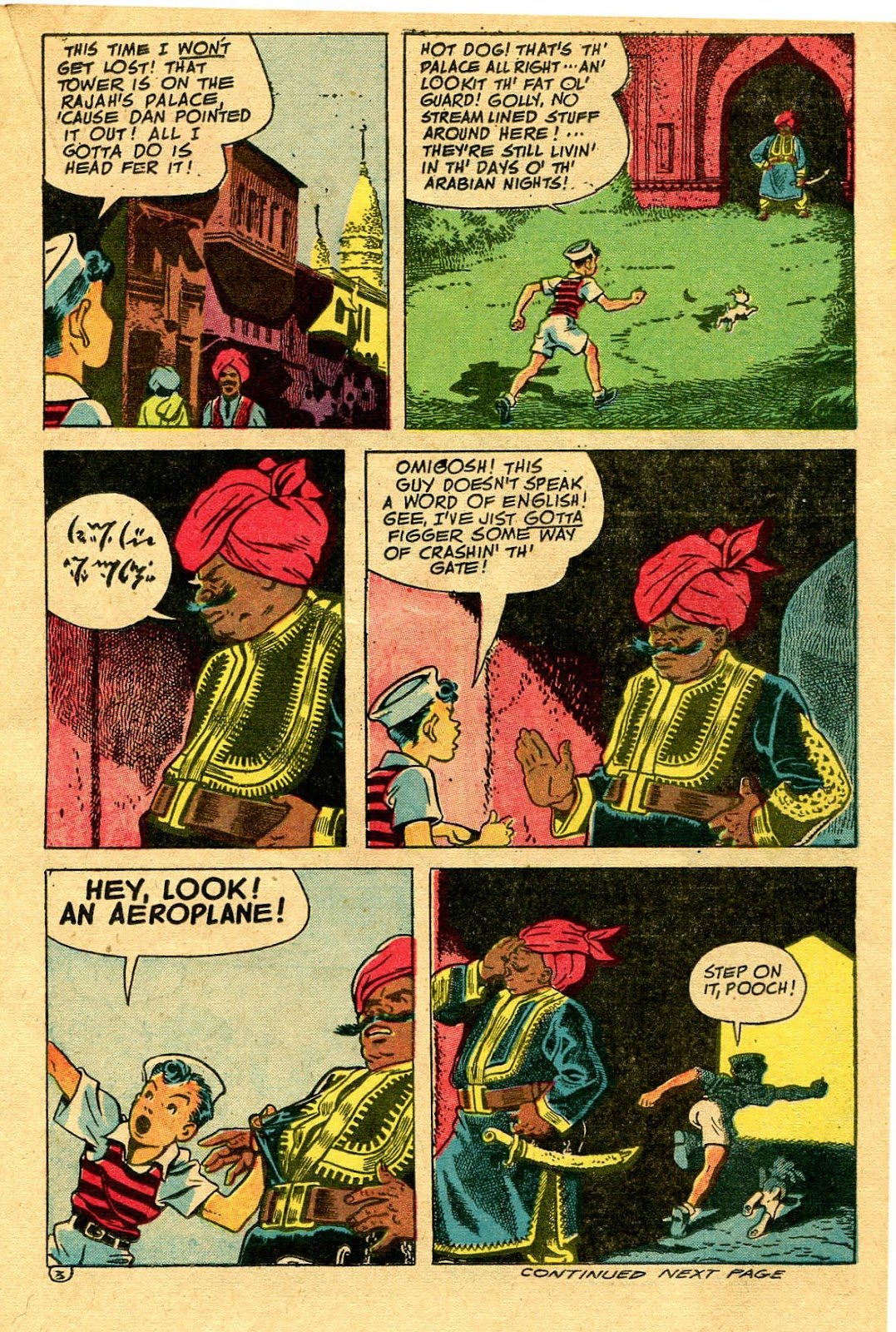 Read online Famous Funnies comic -  Issue #130 - 23