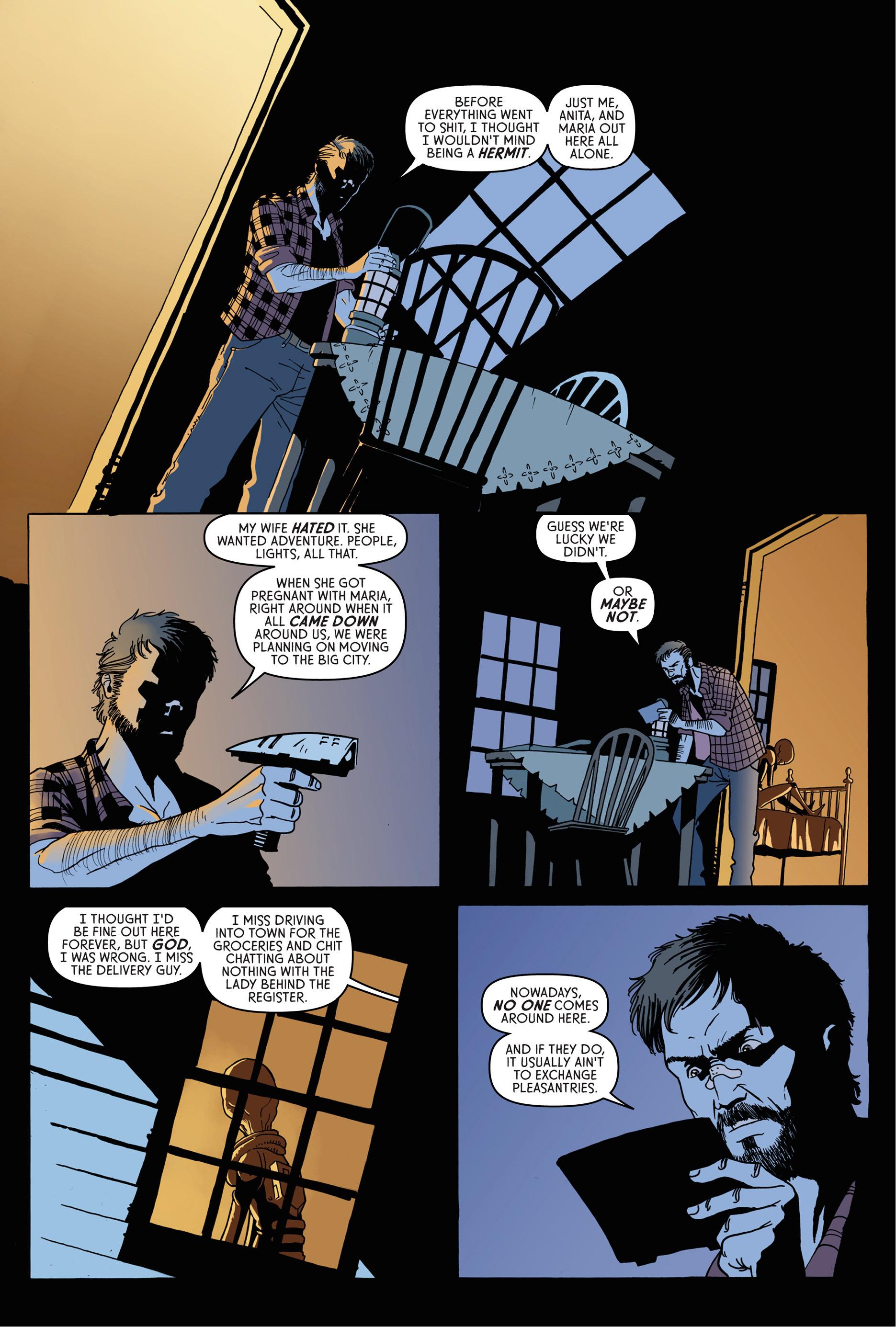 Read online Trespasser comic -  Issue #1 - 20