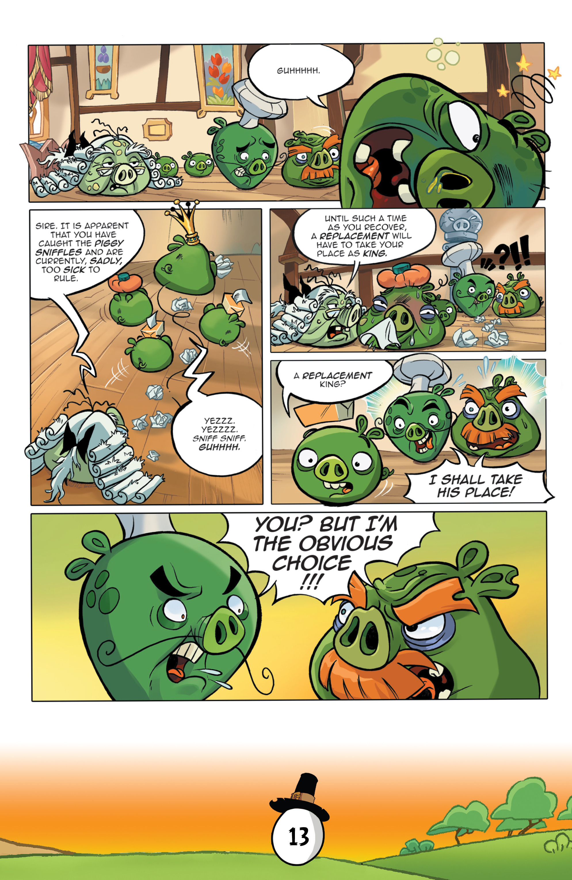 Read online Angry Birds Comics (2016) comic -  Issue #11 - 15