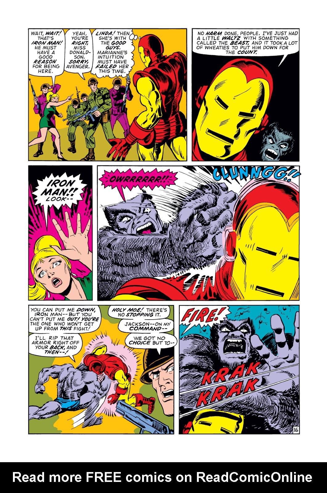 Read online Amazing Adventures (1970) comic -  Issue #12 - 17