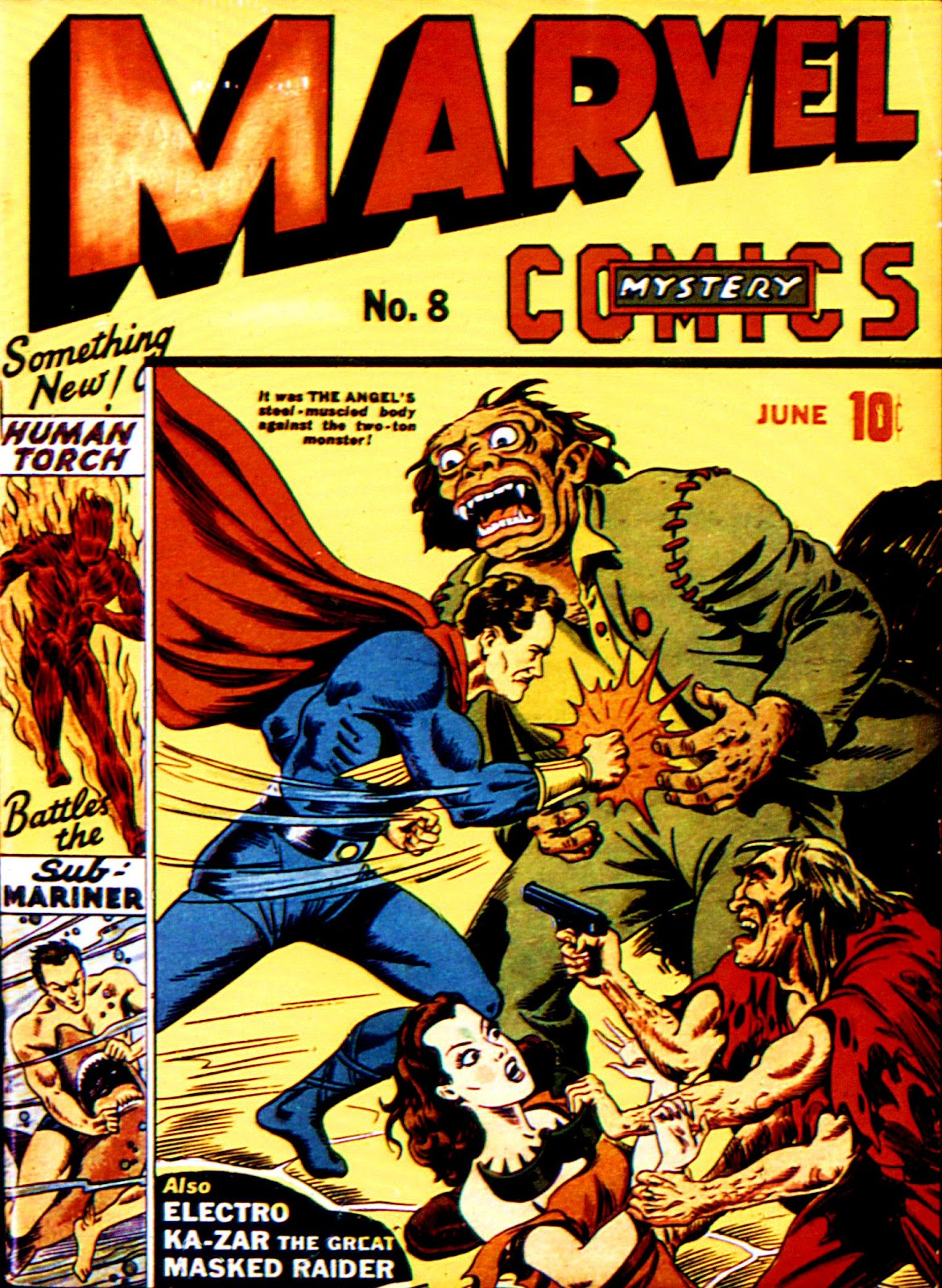 Marvel Mystery Comics (1939) issue 8 - Page 1