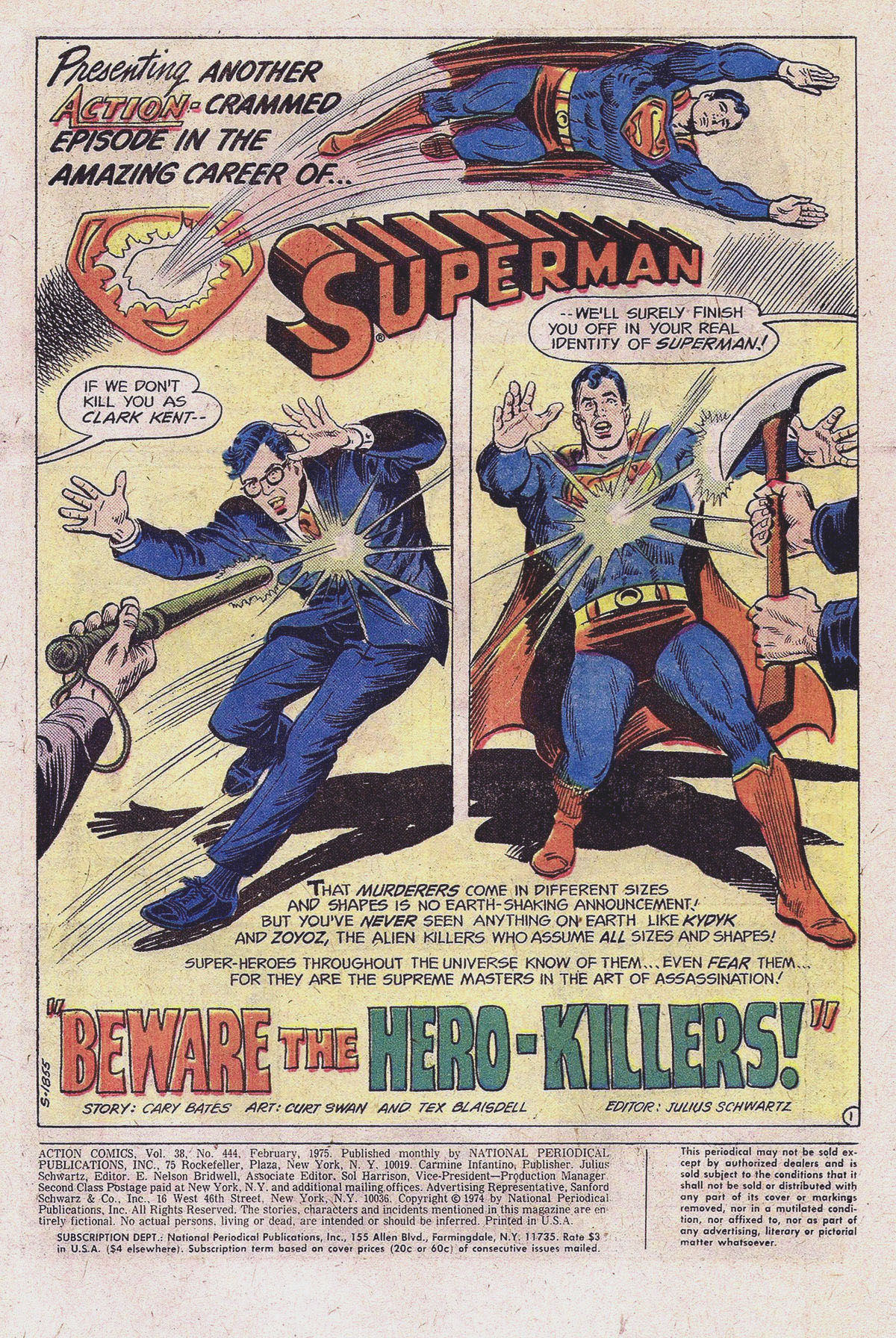 Read online Action Comics (1938) comic -  Issue #444 - 3