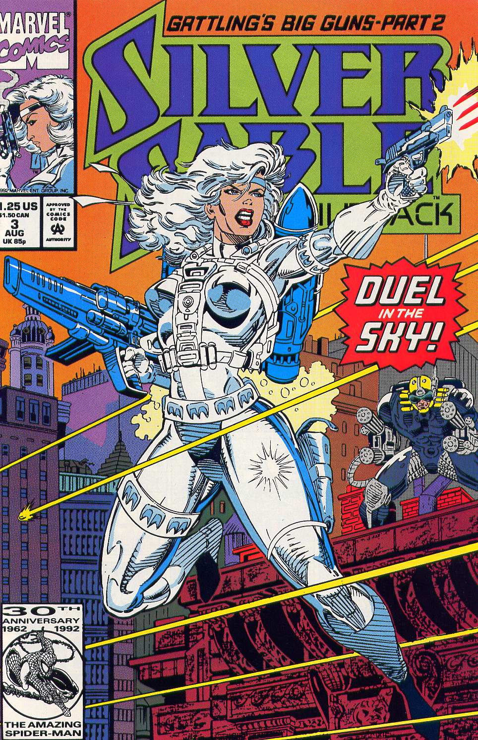 Read online Silver Sable and the Wild Pack comic -  Issue #3 - 1