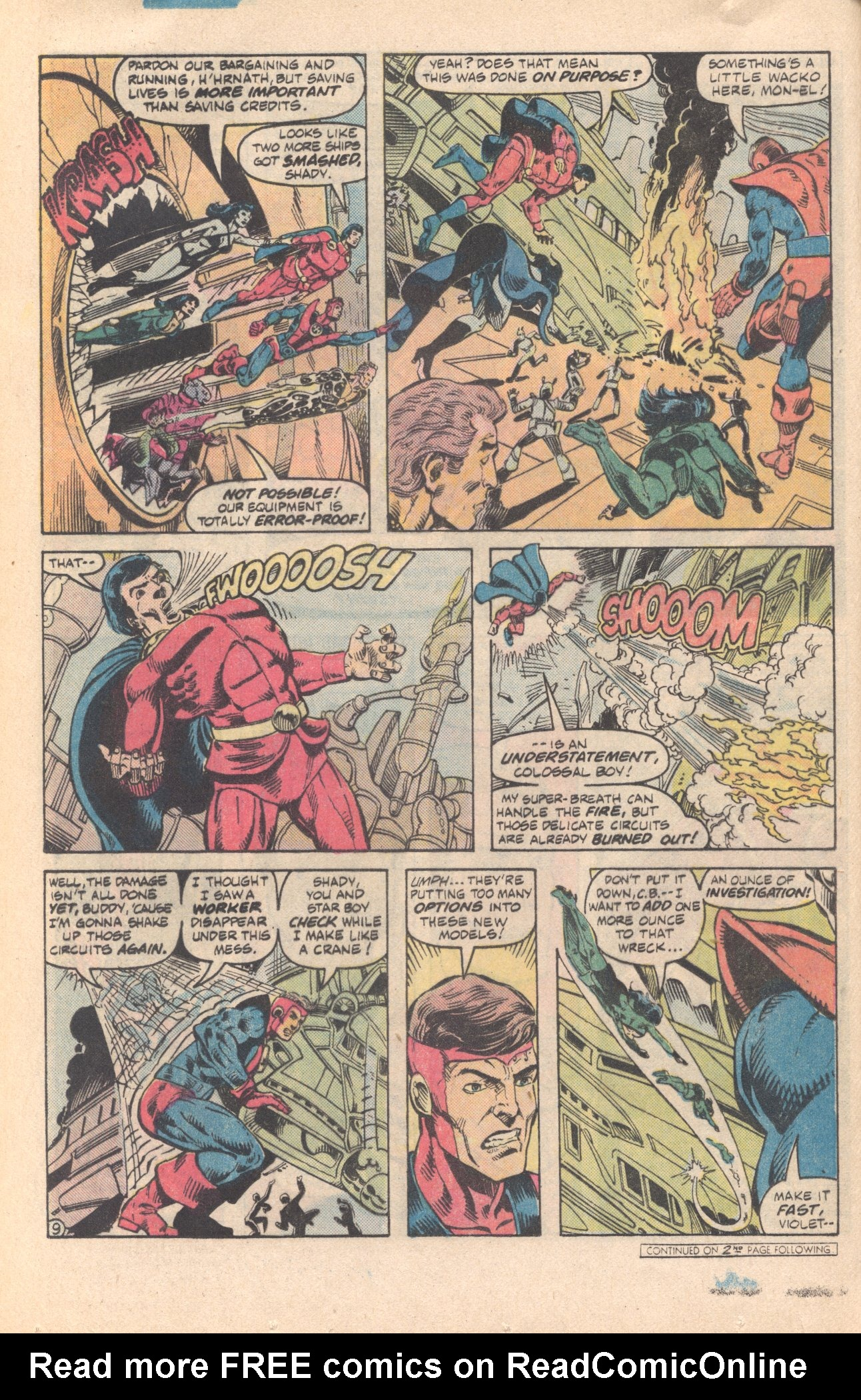 Legion of Super-Heroes (1980) 285 Page 9