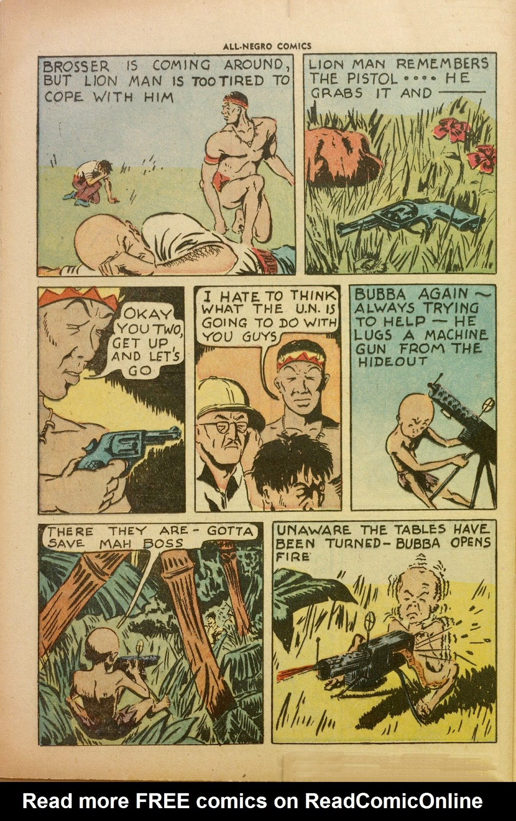 All-Negro Comics issue Full - Page 37
