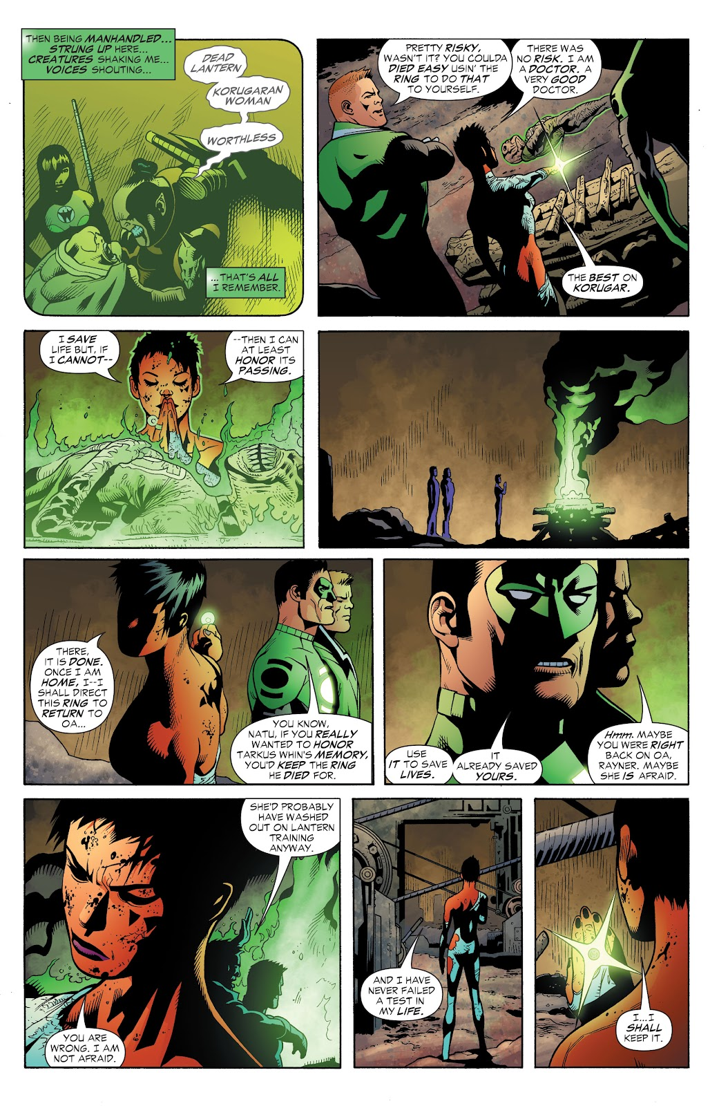 Read online Green Lantern by Geoff Johns comic -  Issue # TPB 1 (Part 3) - 44