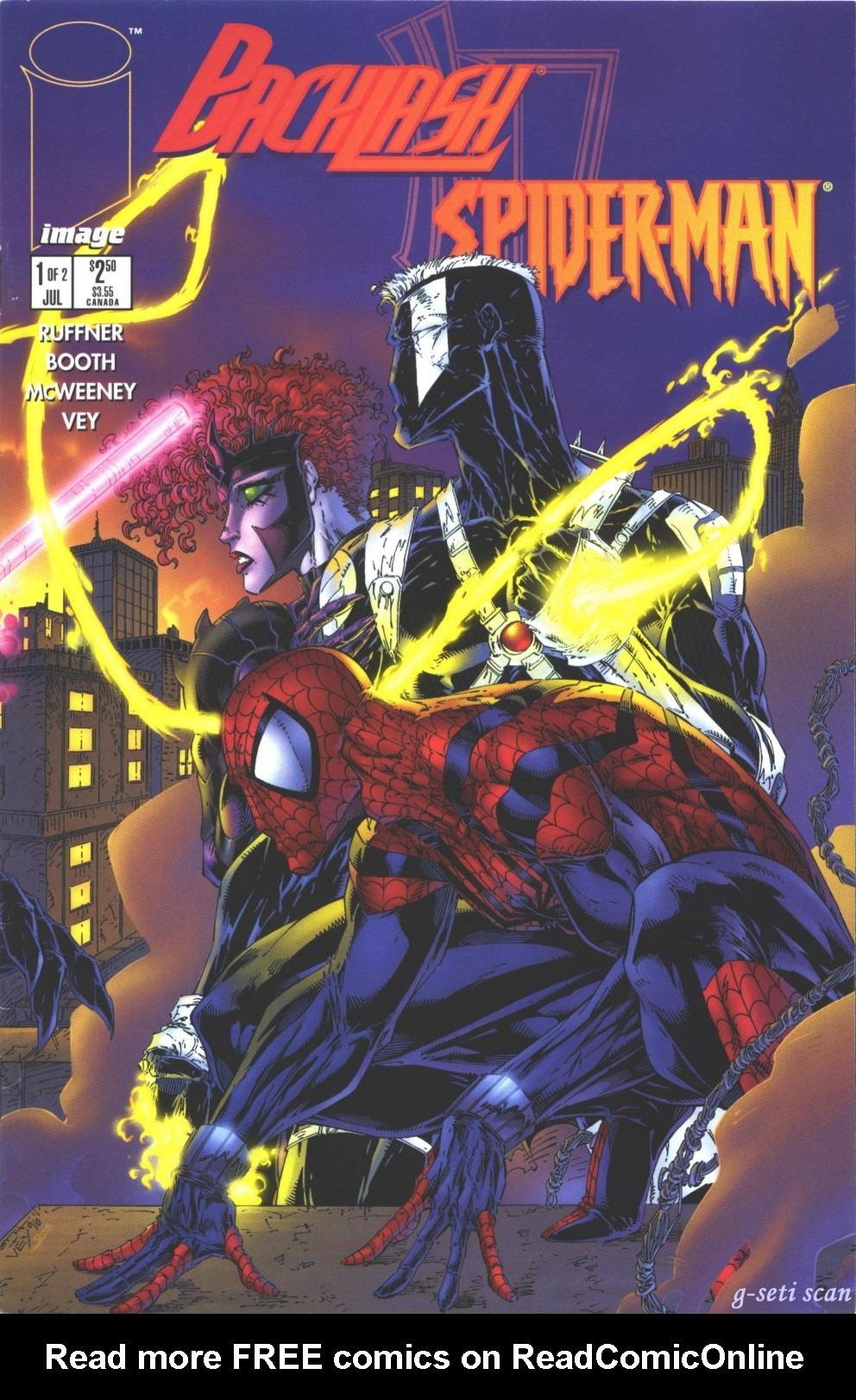 Backlash/Spider-Man 1 Page 1