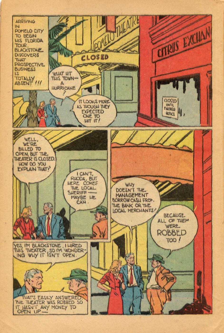 Read online Super-Magician Comics comic -  Issue #45 - 4
