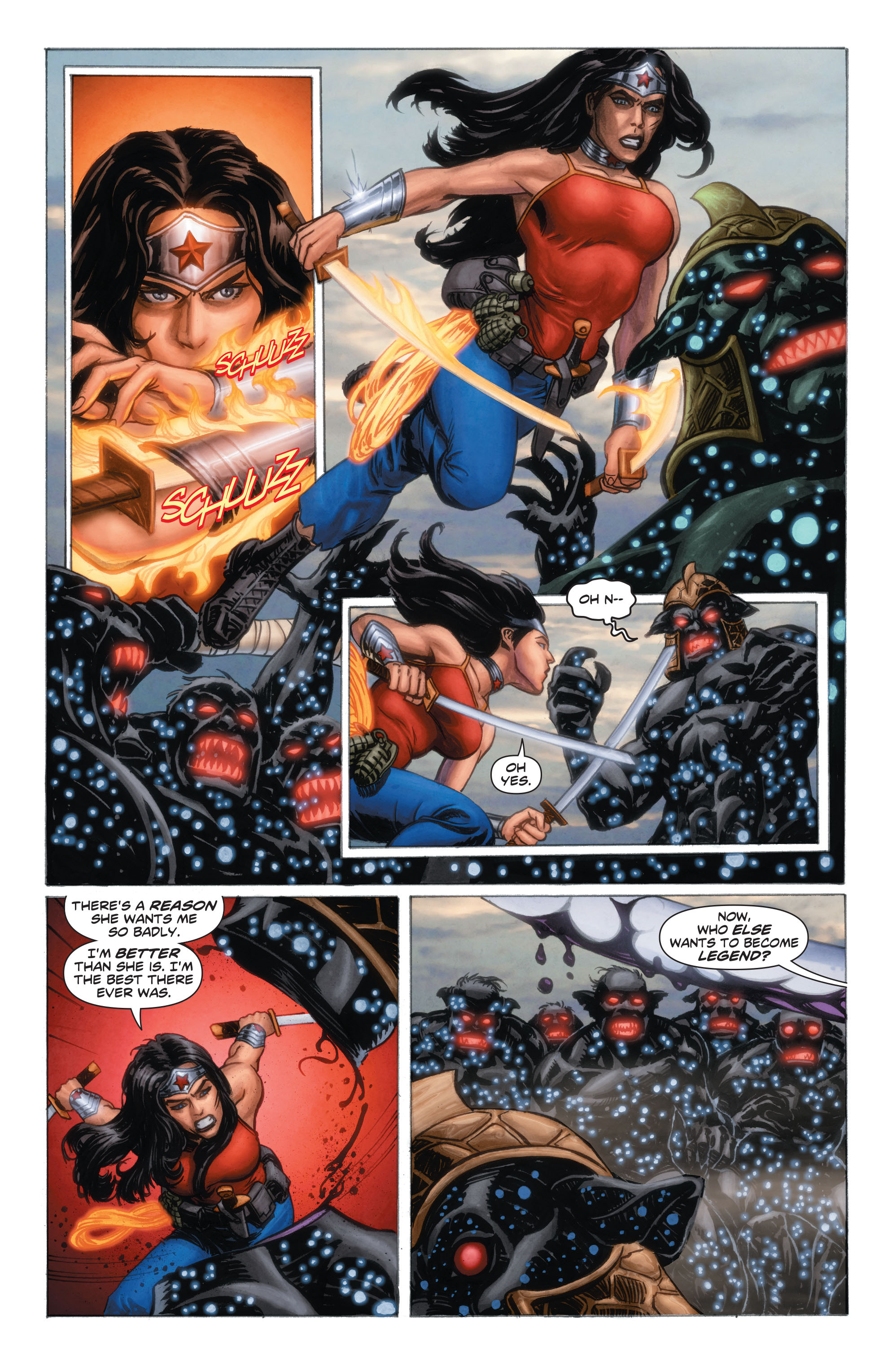 Read online Wonder Woman: Futures End comic -  Issue # Full - 7