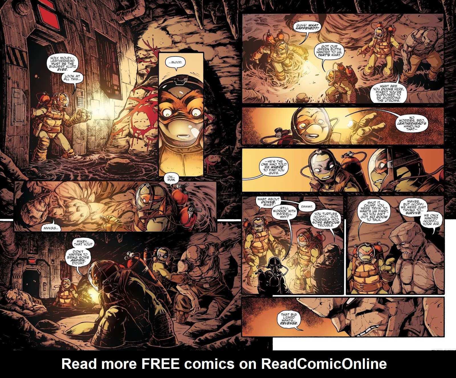 Read online Teenage Mutant Ninja Turtles: The IDW Collection comic -  Issue # TPB 7 (Part 2) - 70