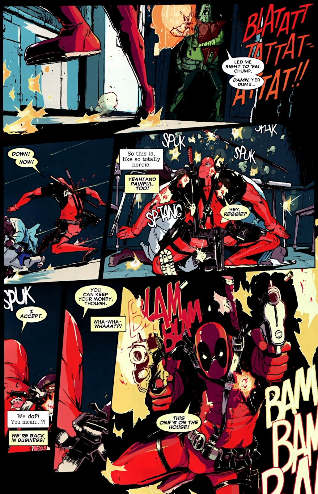 Read online Deadpool (2008) comic -  Issue #32 - 14