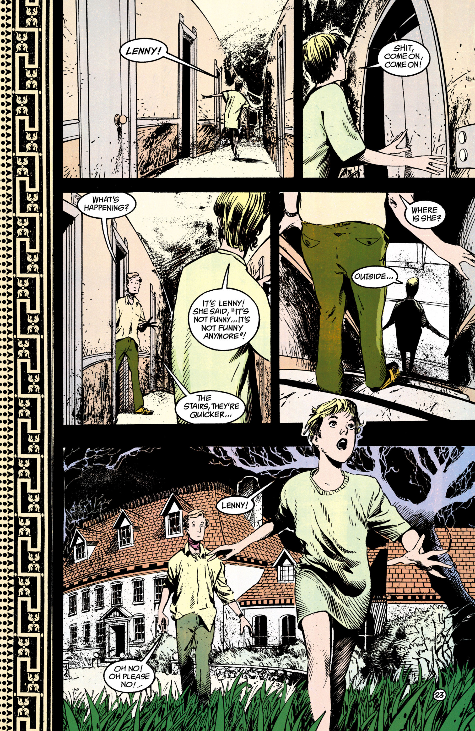 Read online Shade, the Changing Man comic -  Issue #38 - 24
