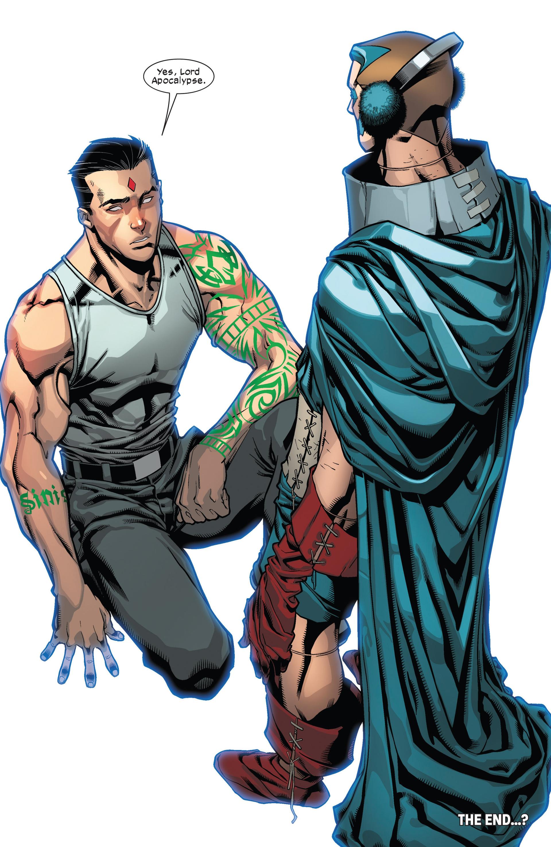 Read online Ultimate Comics X-Men comic -  Issue #12 - 21