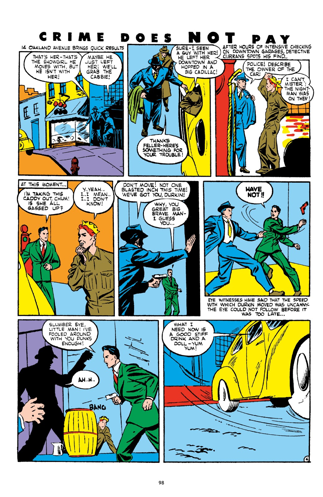 Read online Crime Does Not Pay Archives comic -  Issue # TPB 2 (Part 1) - 98