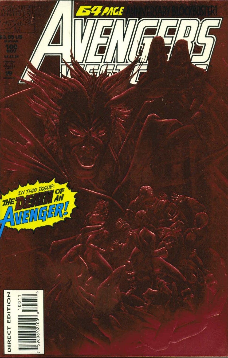 Avengers West Coast (1989) 100 Page 1