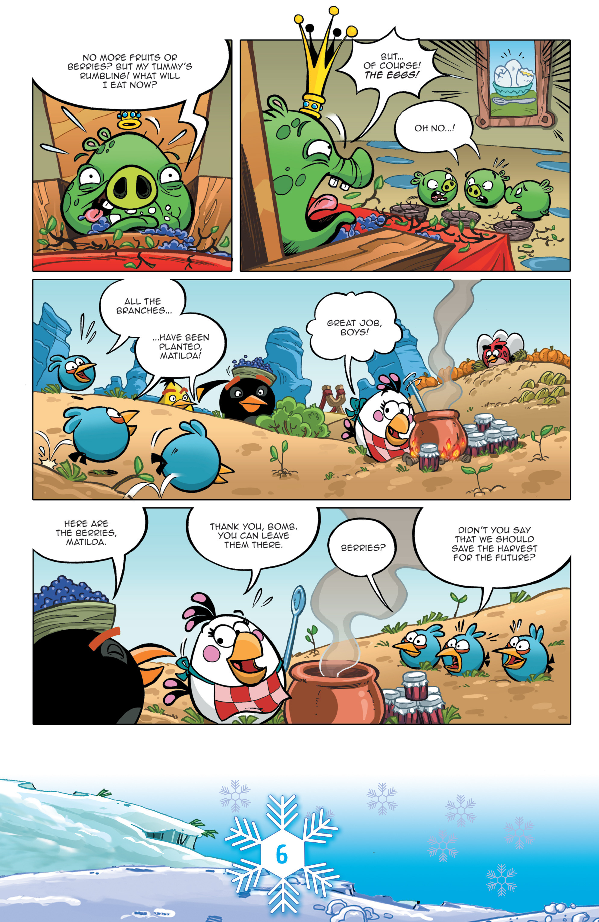 Read online Angry Birds Comics (2016) comic -  Issue #12 - 8