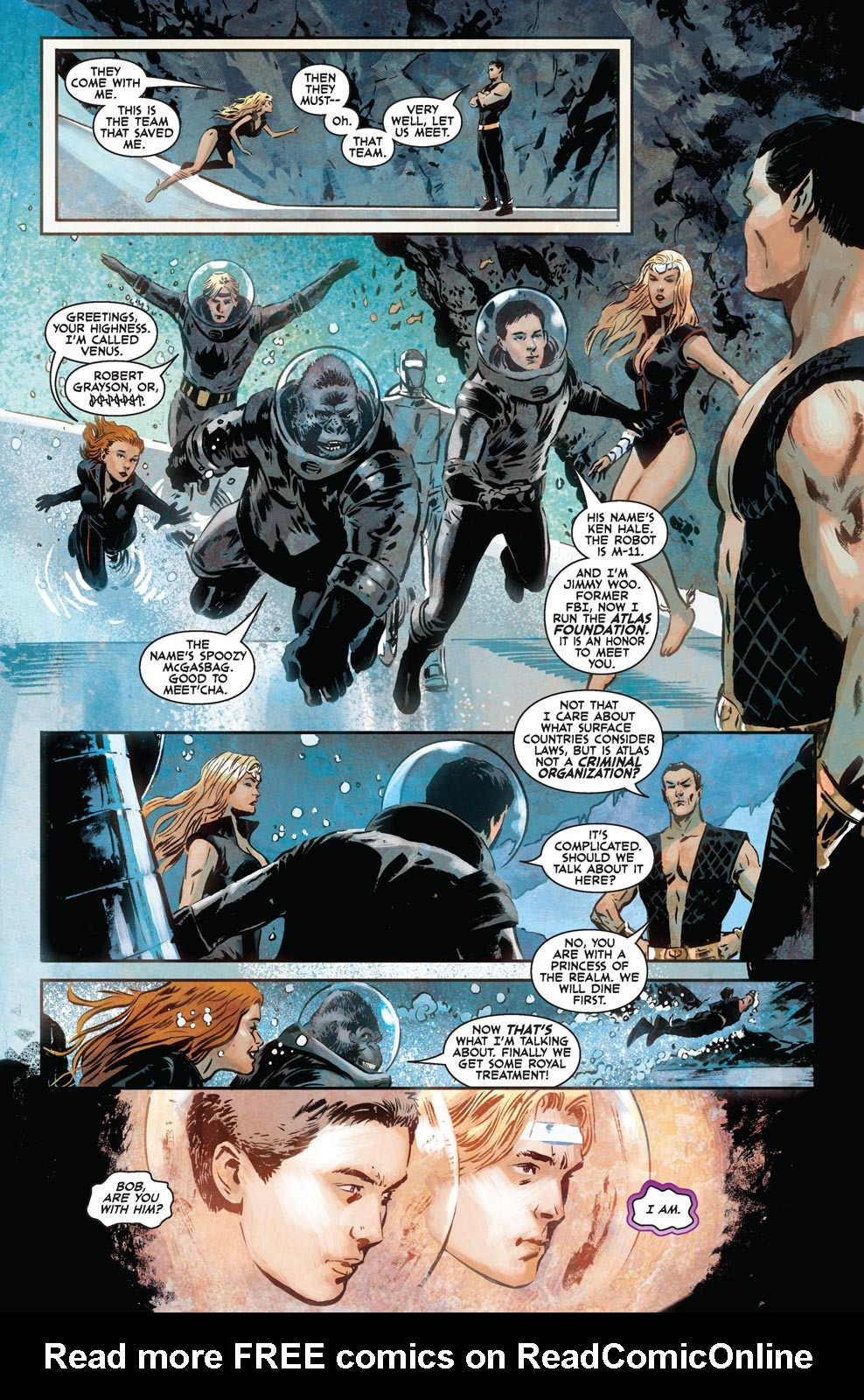 Read online Agents Of Atlas (2009) comic -  Issue #6 - 10