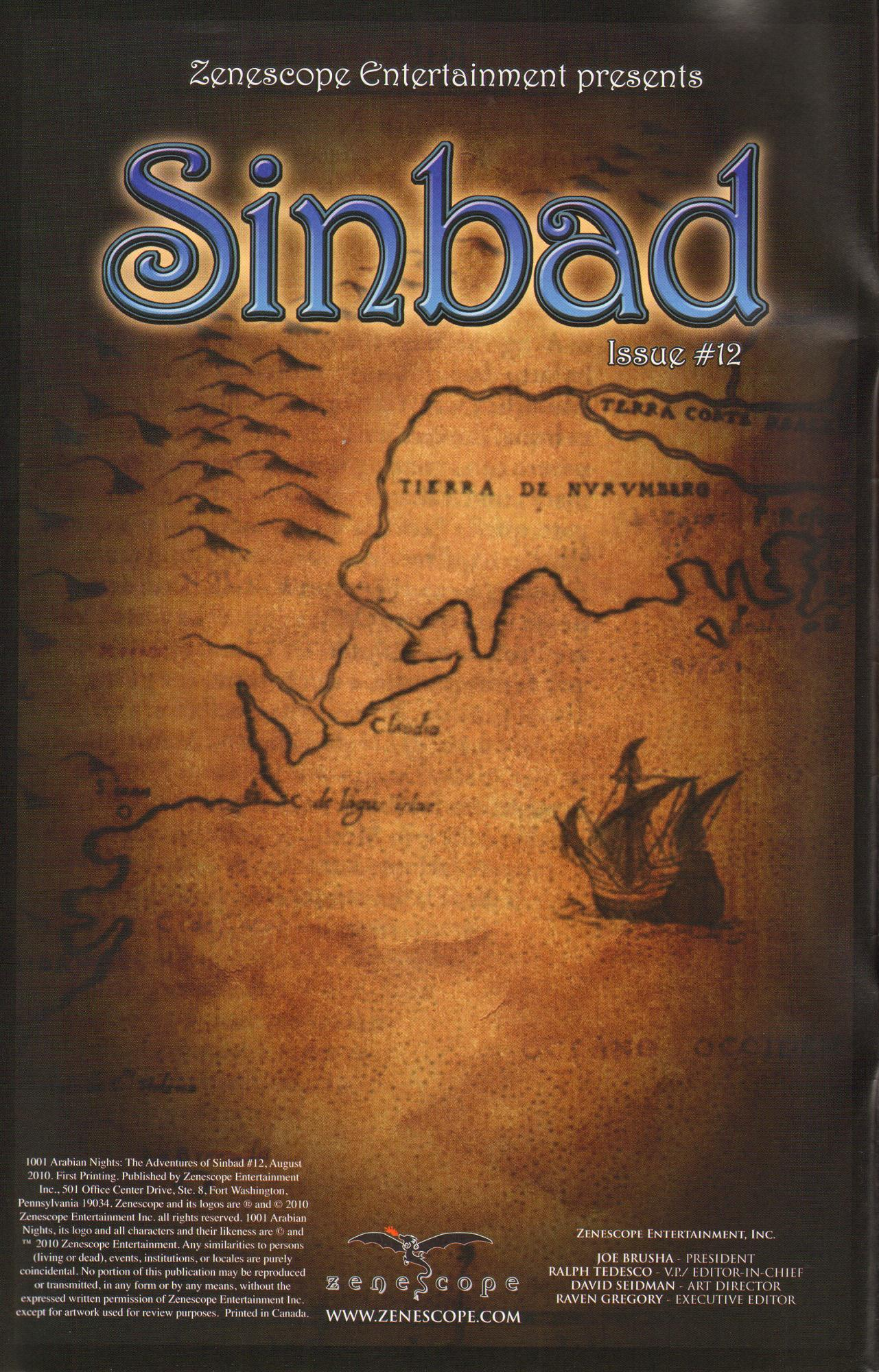Read online 1001 Arabian Nights: The Adventures of Sinbad comic -  Issue #12 - 2